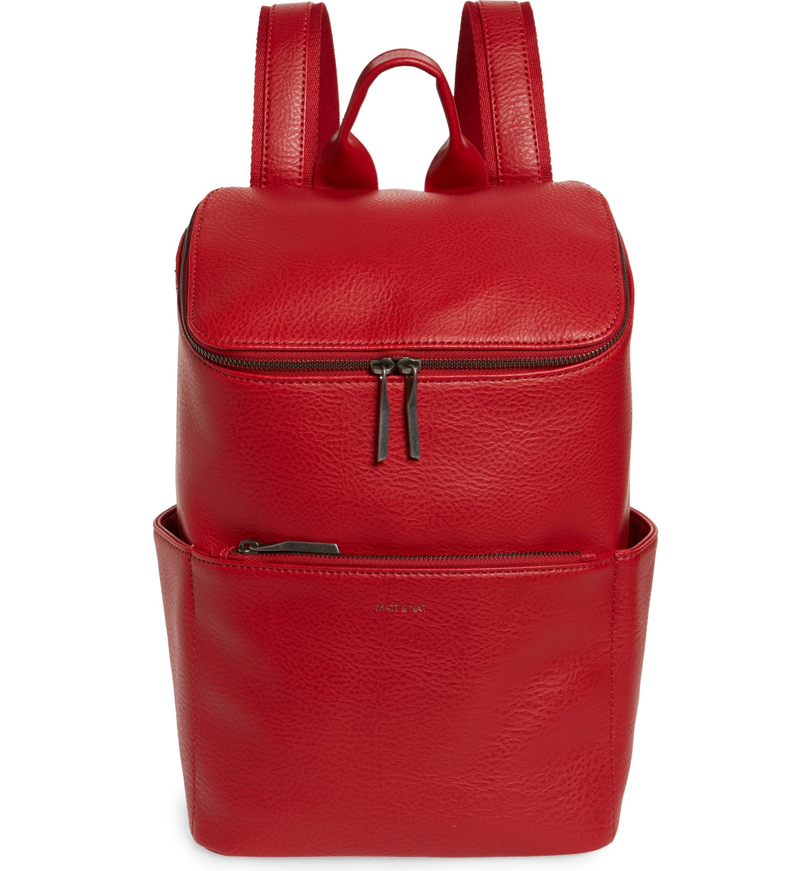 afabb7b5bf1 Matt   Nat  Brave  Faux Leather Backpack