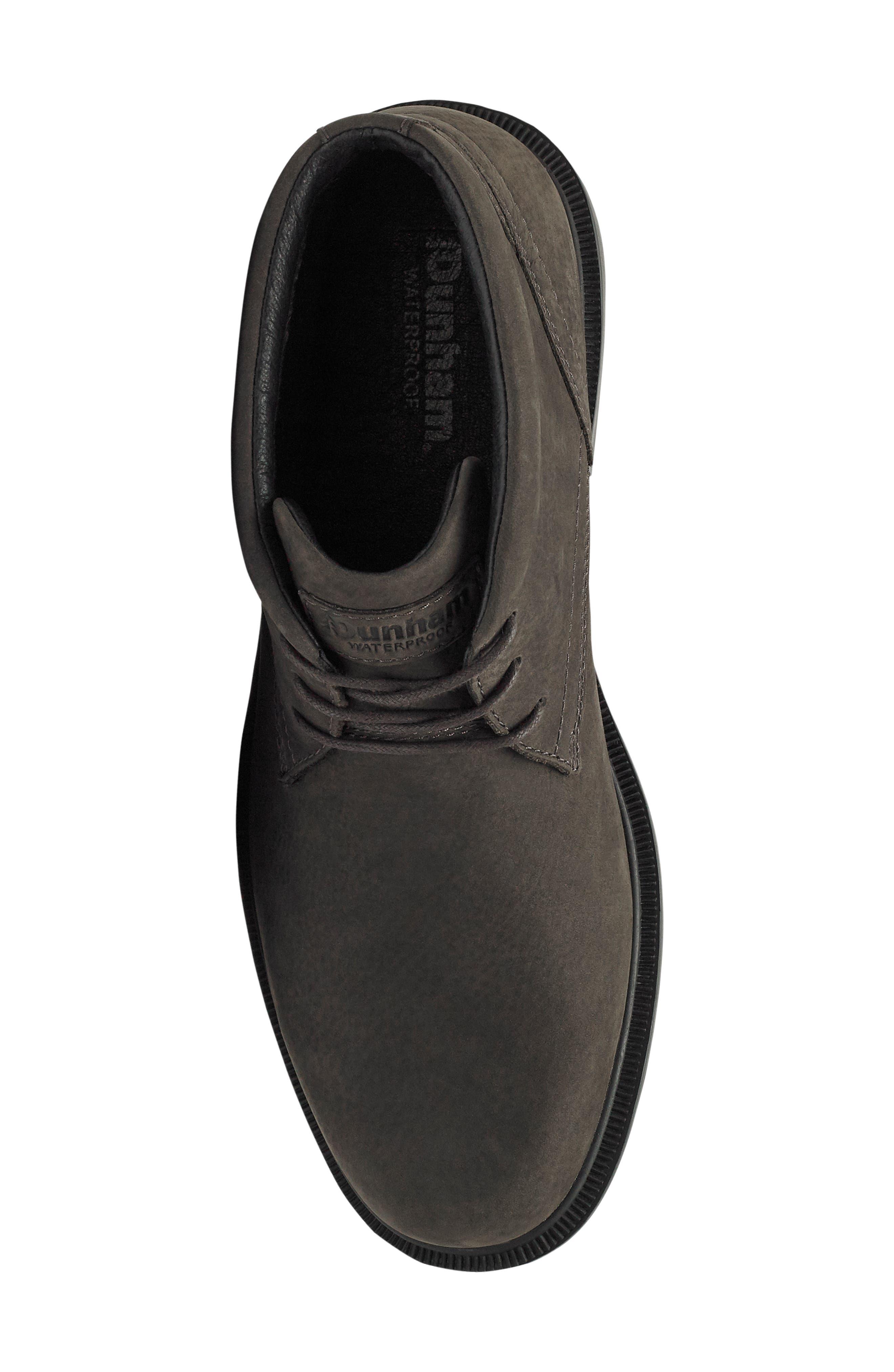 DUNHAM, Jericho Waterproof Chukka Boot, Alternate thumbnail 5, color, 020