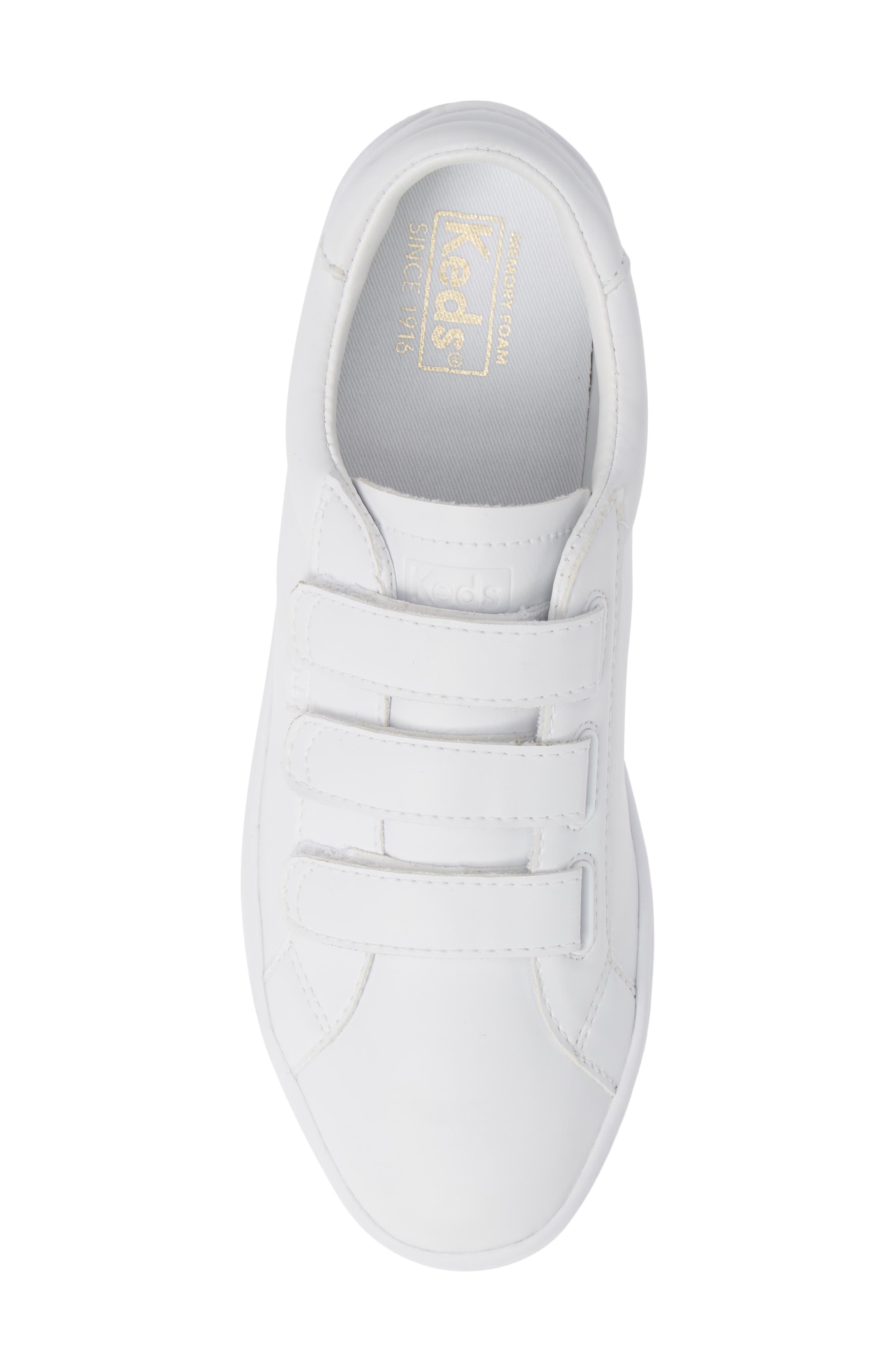 KEDS<SUP>®</SUP>, Ace 3V Sneaker, Alternate thumbnail 5, color, 100