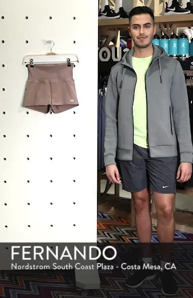 Aura High Waist Shorts, sales video thumbnail