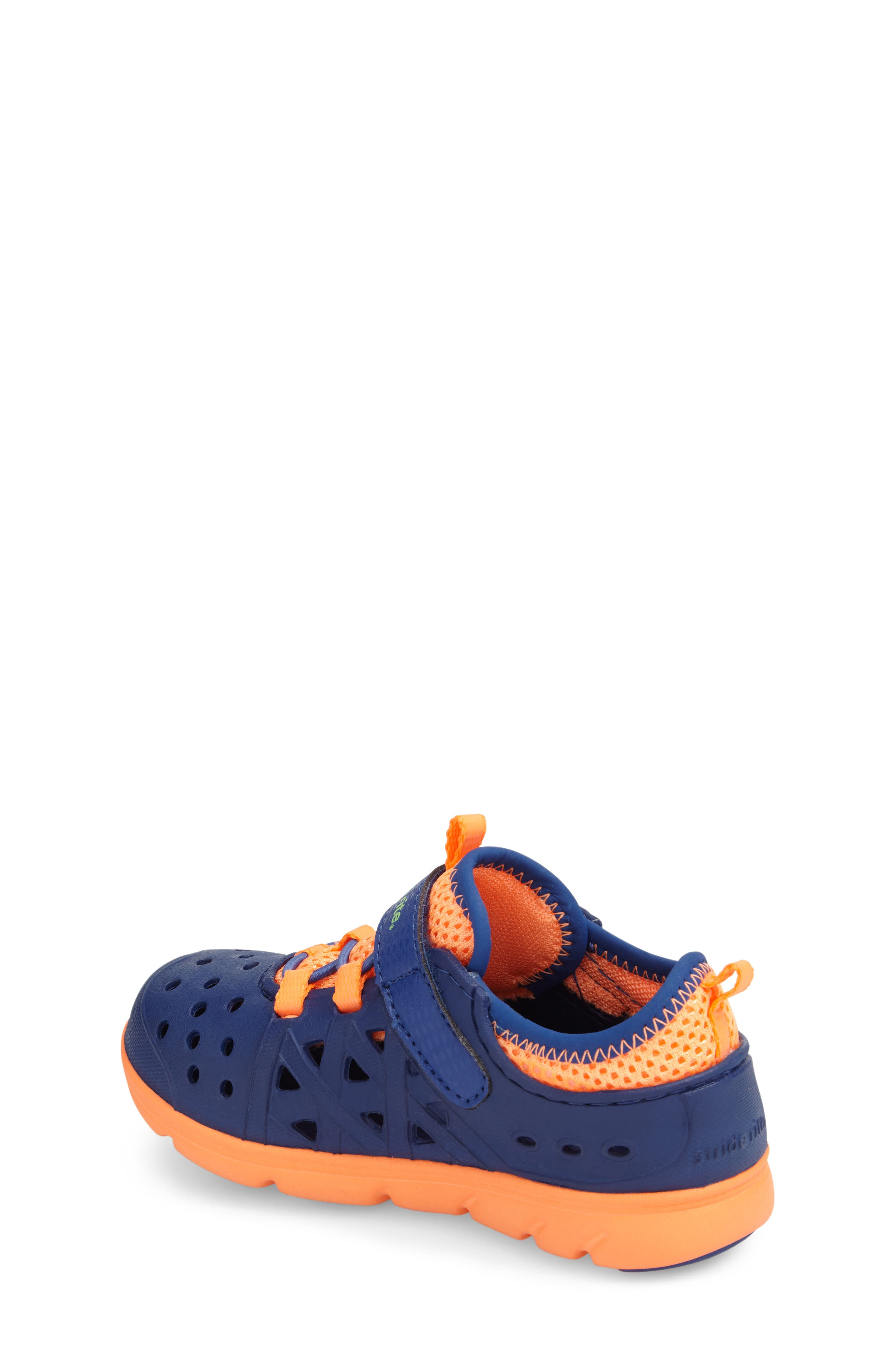 STRIDE RITE, Made2Play<sup>®</sup> Phibian Sneaker, Alternate thumbnail 2, color, NAVY STAR