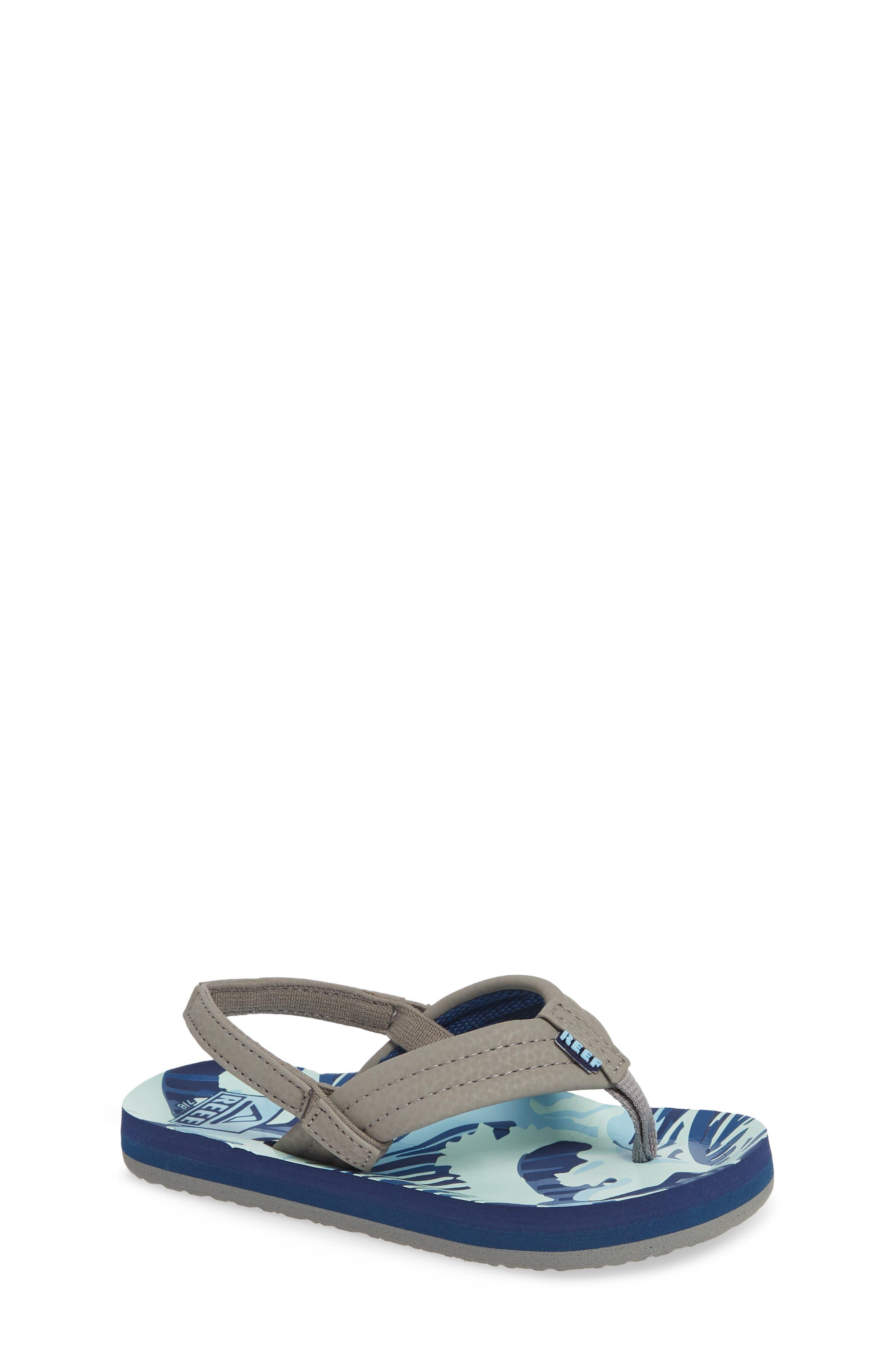 REEF 'Ahi' Sandal, Main, color, BLUE