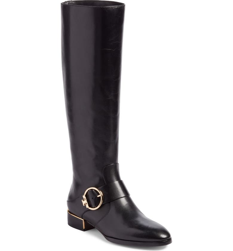 9af4deb69 Tory Burch Sofia Buckled Riding Boot (Women) (Regular   Wide Calf ...