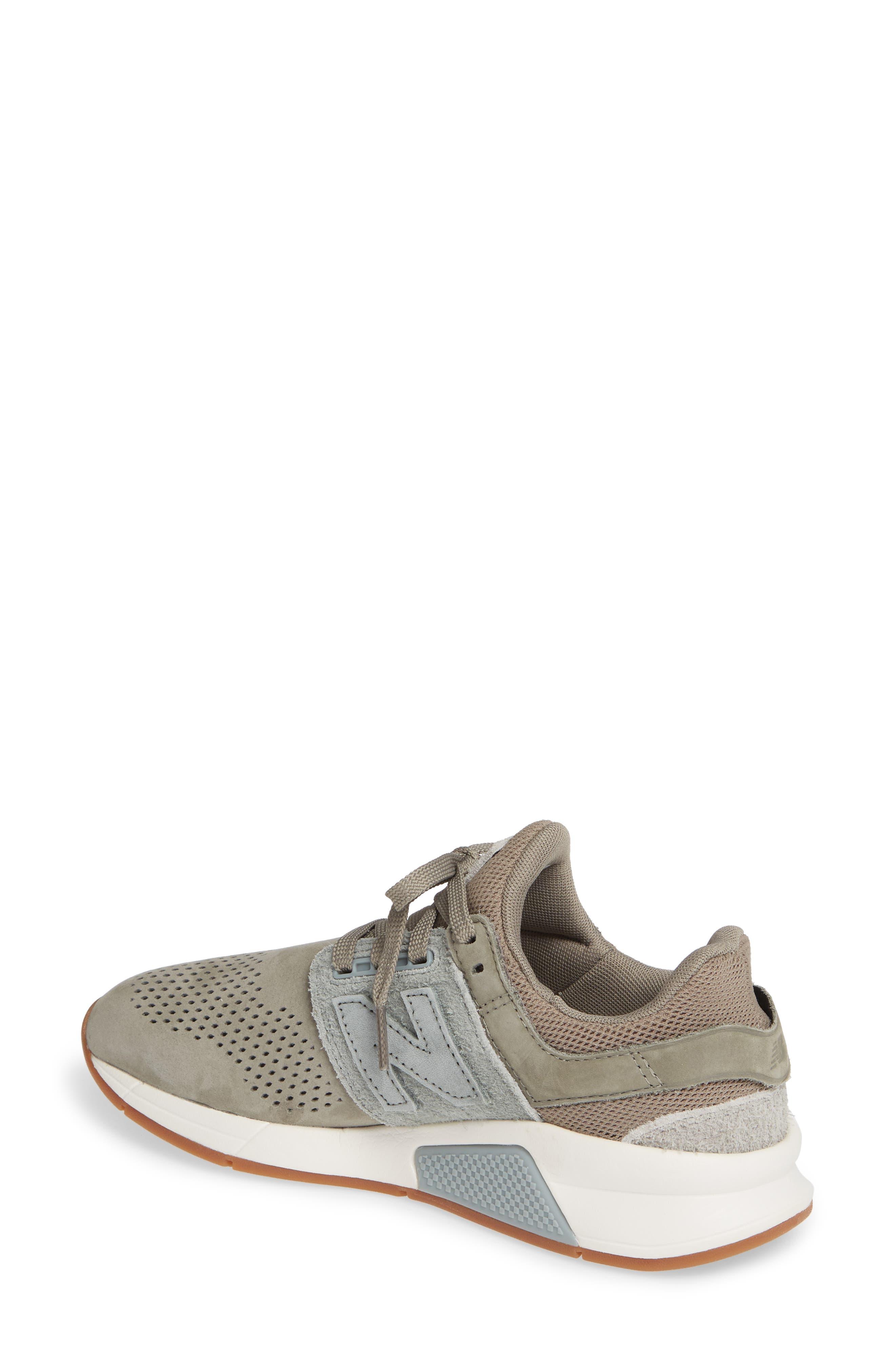 NEW BALANCE, Sport Style 247 Sneaker, Alternate thumbnail 2, color, MILITARY URBAN GREY