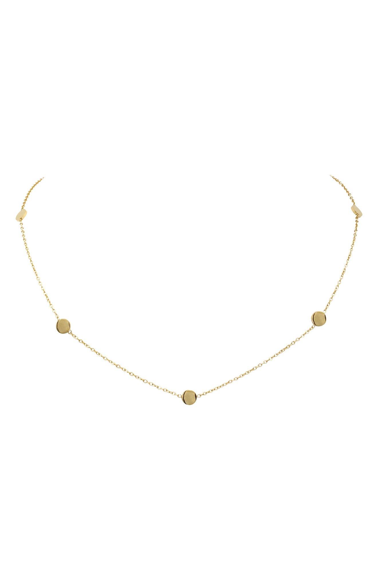 ELLIE VAIL Misha Choker Necklace, Main, color, 710