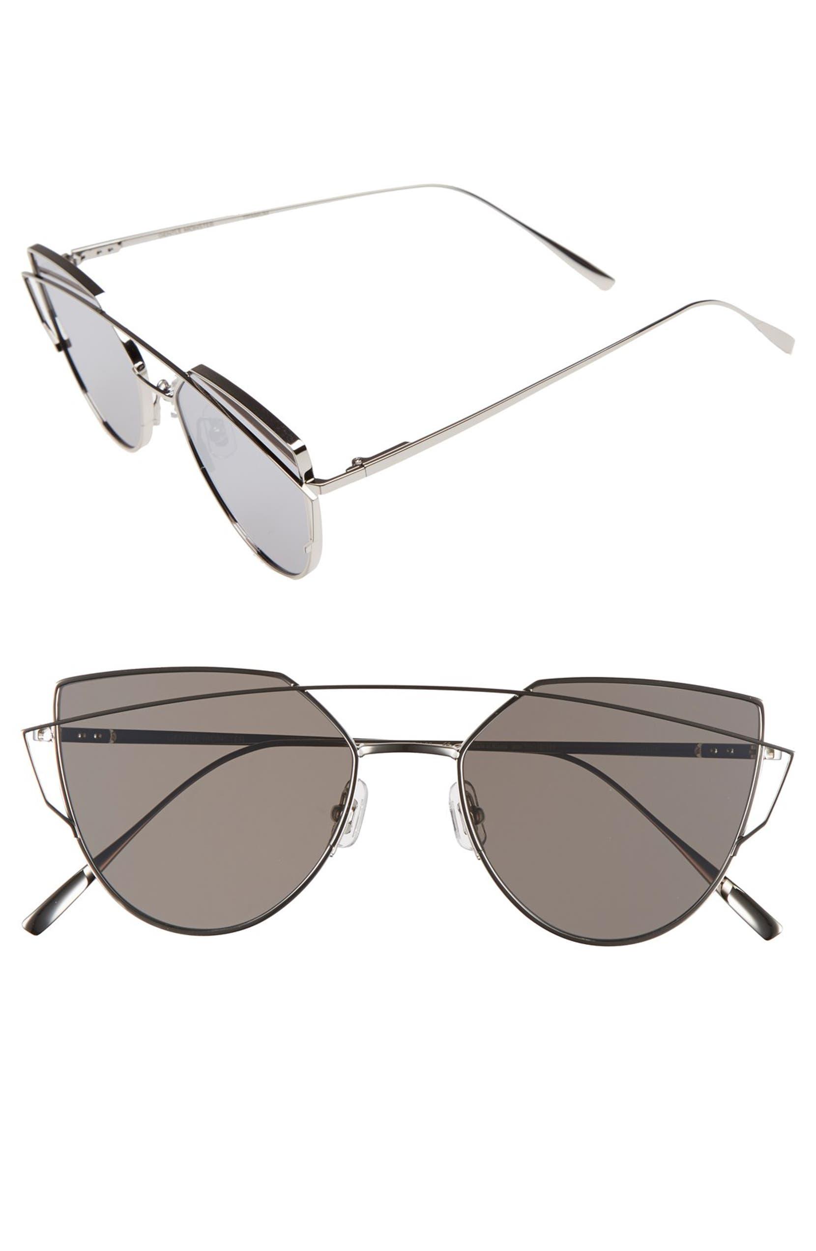 80f8e51ee1f Gentle Monster  Love Punch  55mm Titanium Aviator Sunglasses