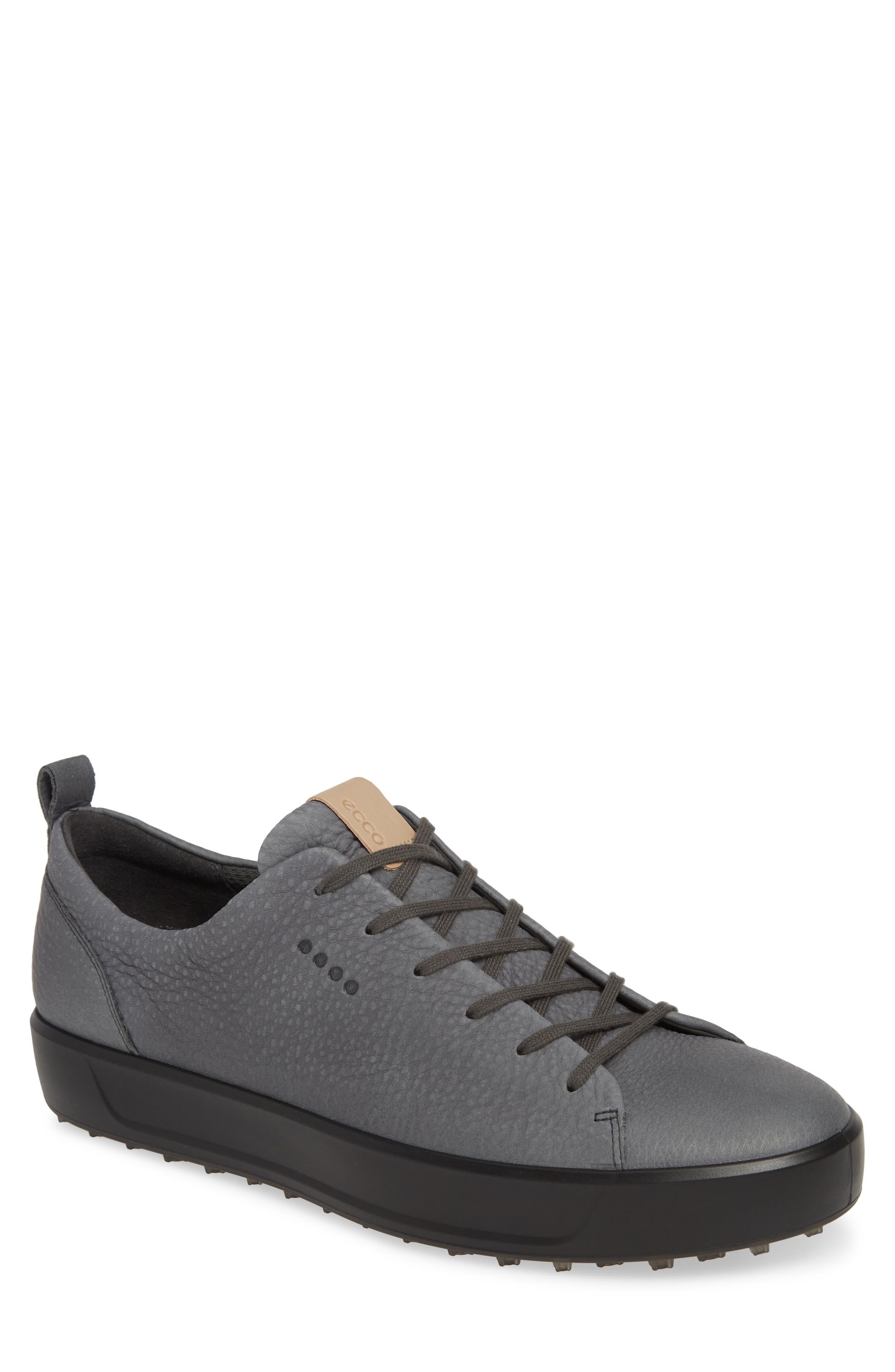 ECCO Hydromax<sup>®</sup> Golf Shoe, Main, color, DARK SHADOW LEATHER