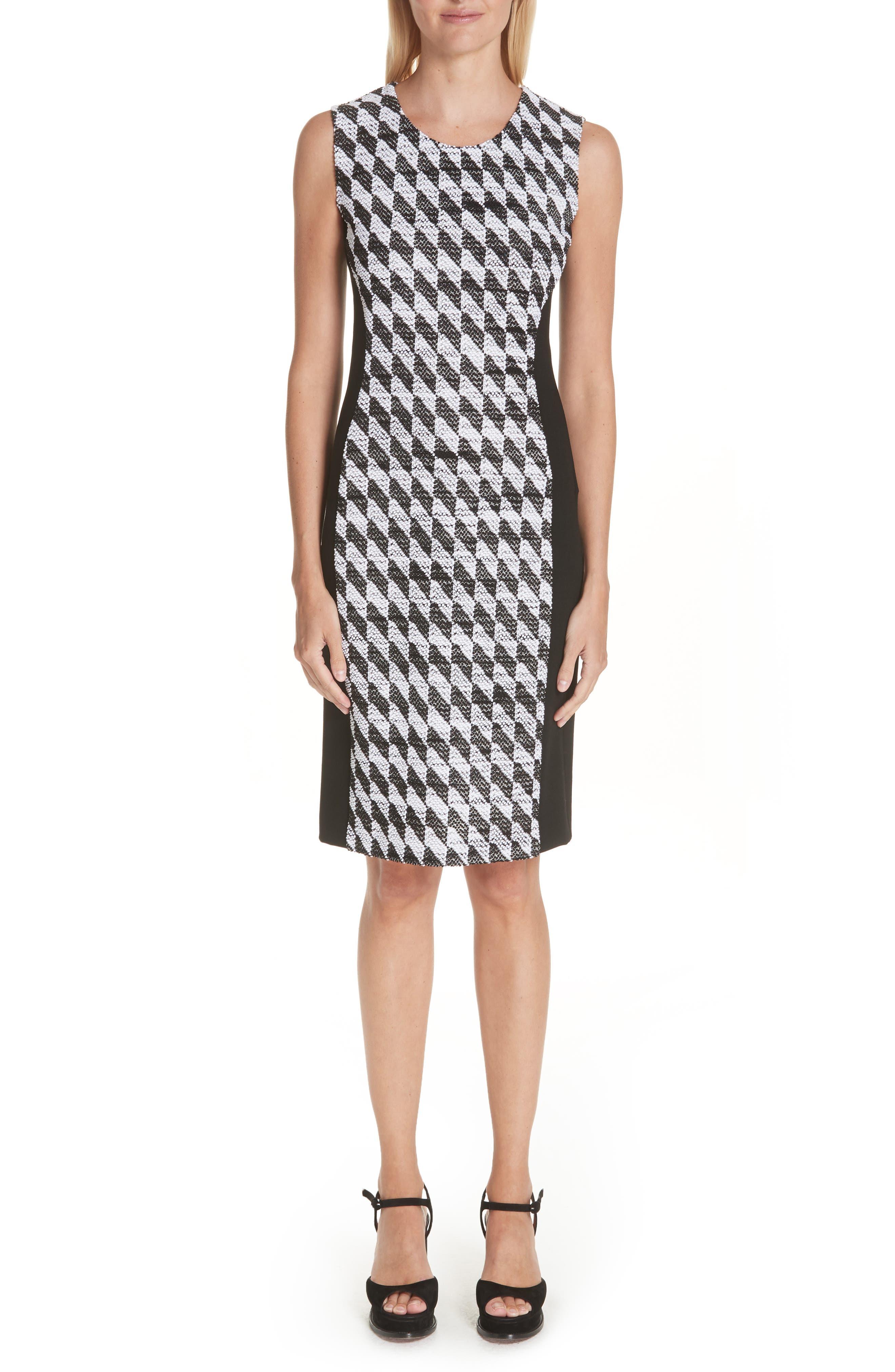 Missoni Diamond Knit Dress, 8 IT - Black