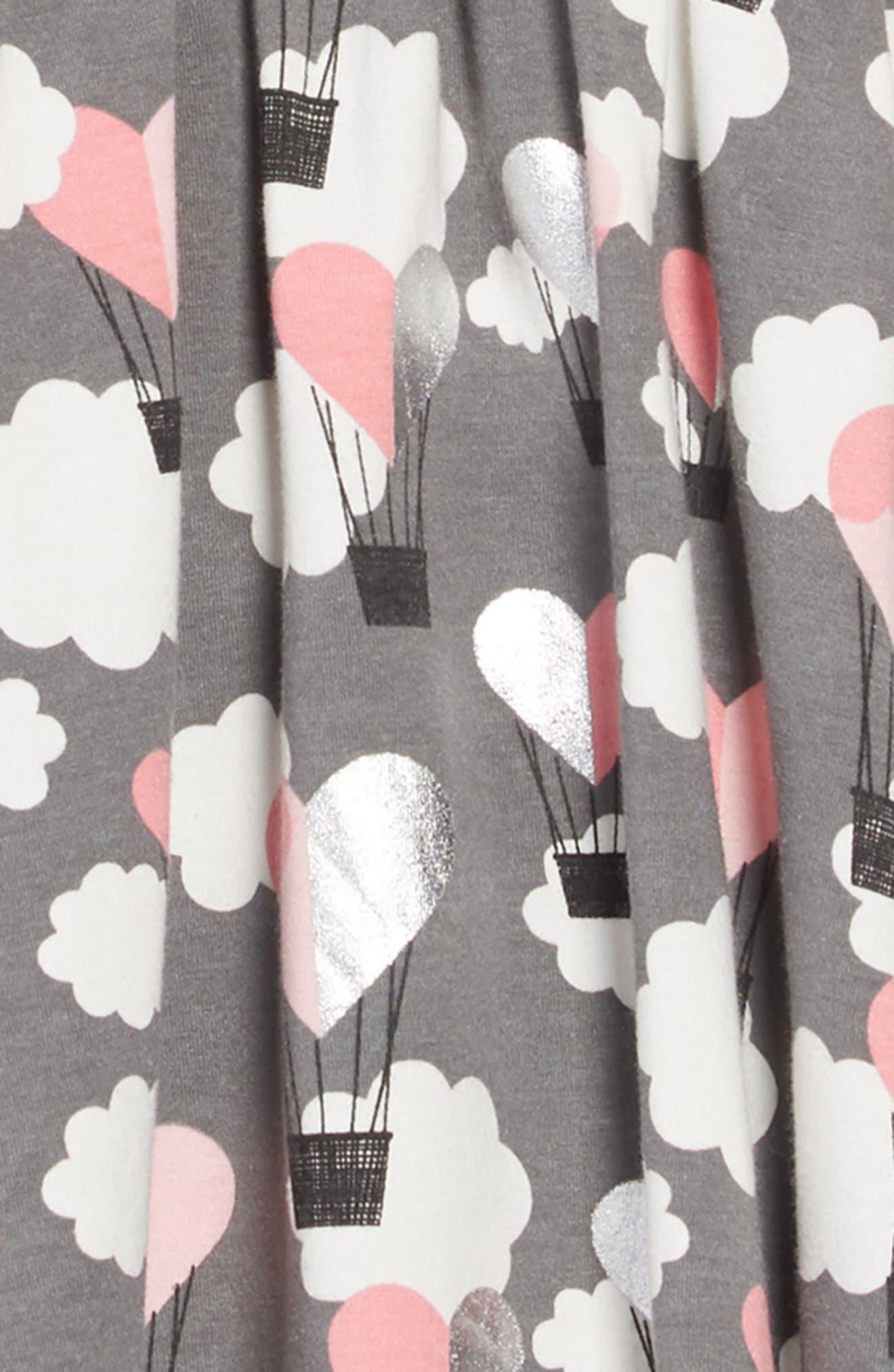 TUCKER + TATE, Print Knit Dress, Alternate thumbnail 3, color, 021