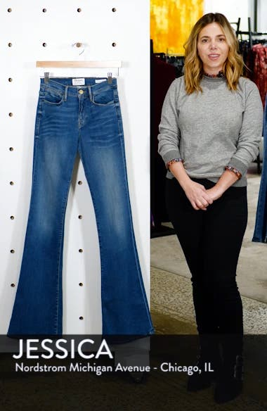 Le High Flare Jeans, sales video thumbnail