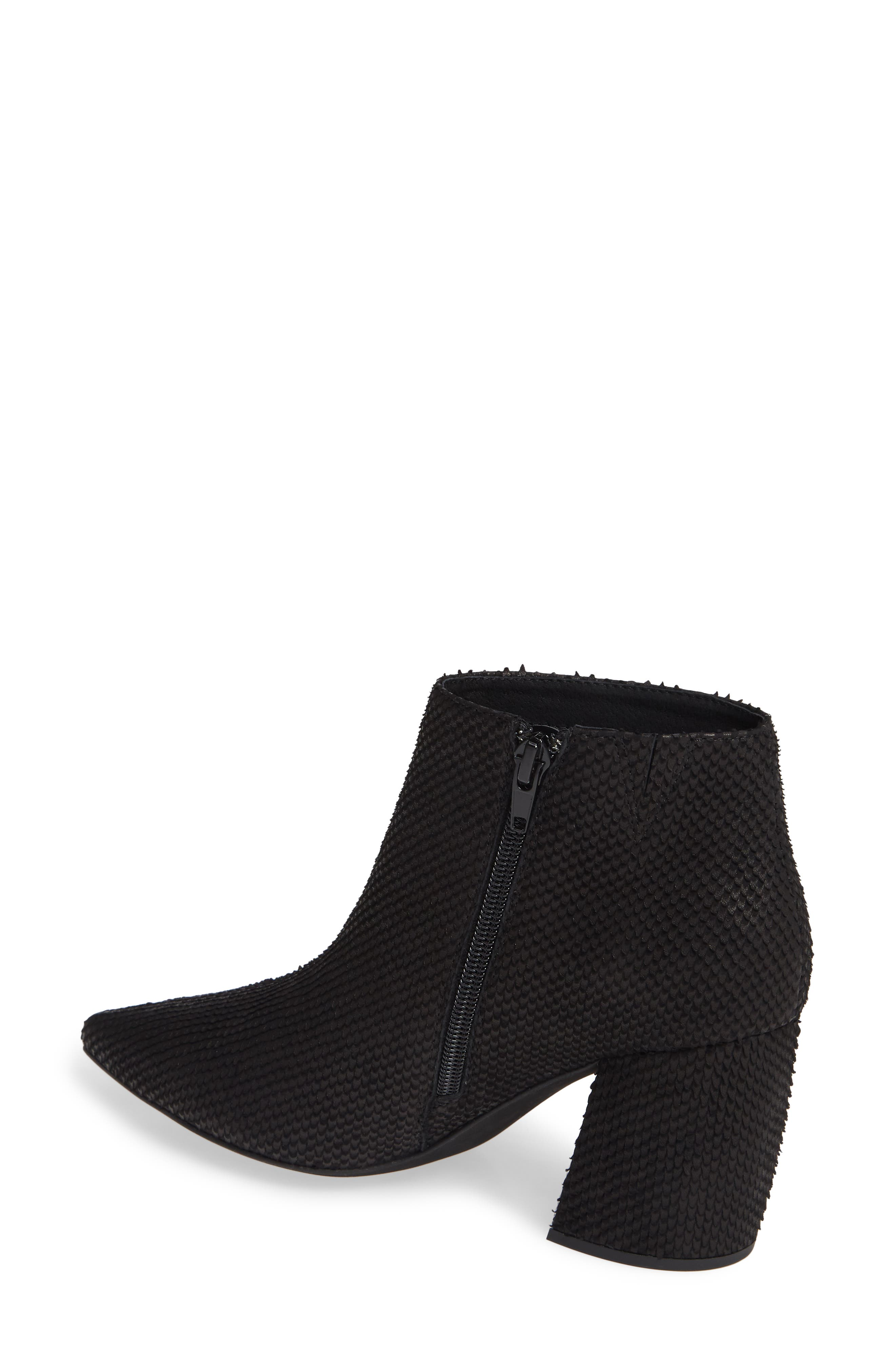 JEFFREY CAMPBELL, Total Ankle Bootie, Alternate thumbnail 2, color, BLACK SCALES