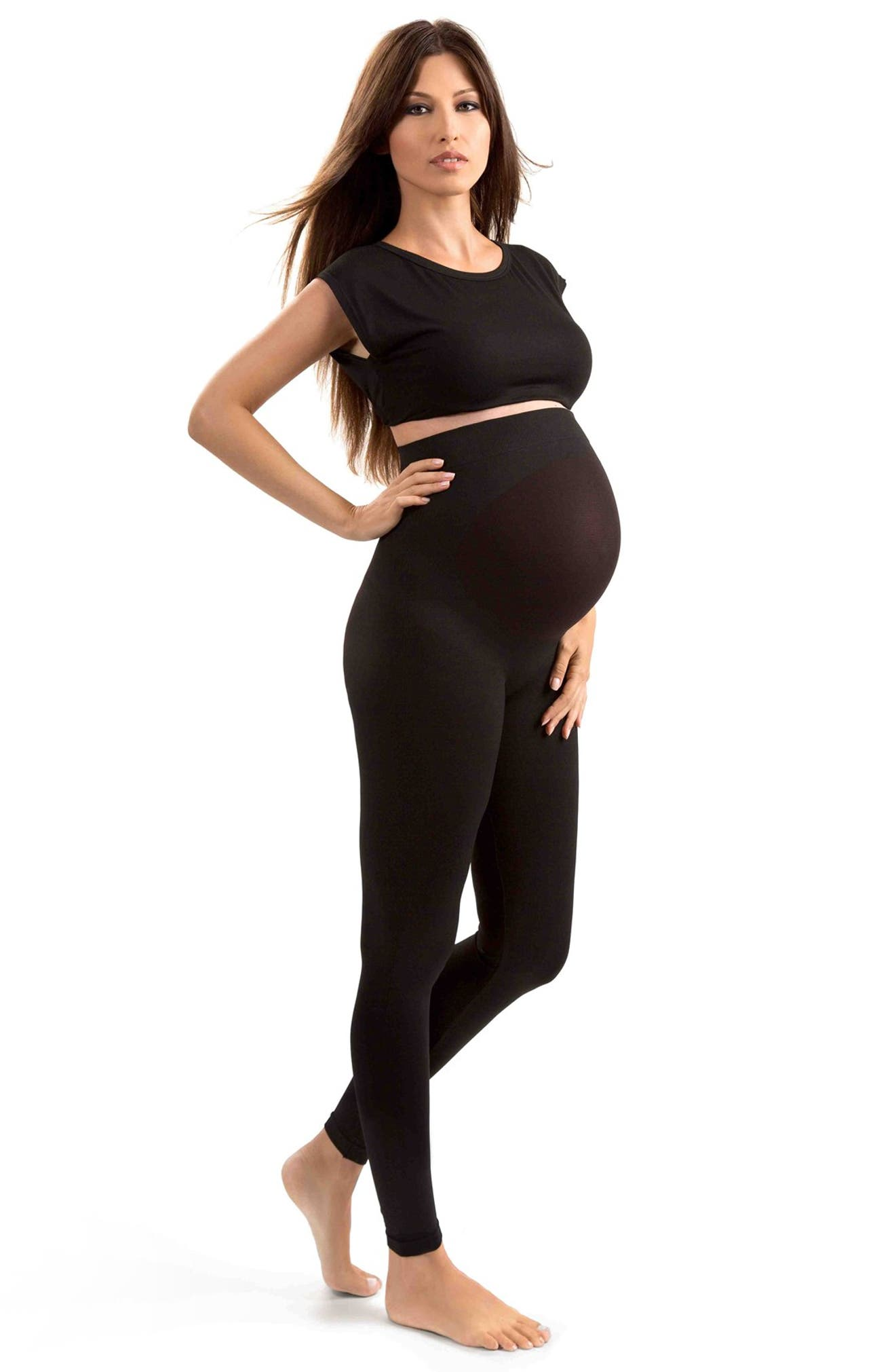 42aaba75d8a56 BLANQI Belly Support Bellyband, Tank Top & Leggings Maternity/Postpartum  Set | Nordstrom. Blanqi Everyday ...