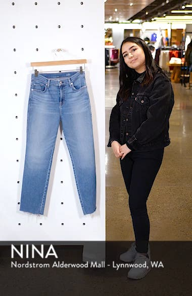 Edie High Waist Crop Jeans, sales video thumbnail