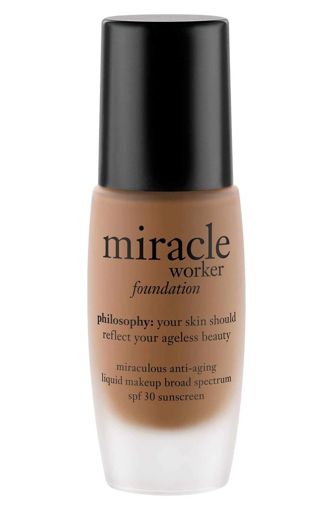 PHILOSOPHY, 'miracle worker' miraculous anti-aging foundation SPF 30, Alternate thumbnail 2, color, 257