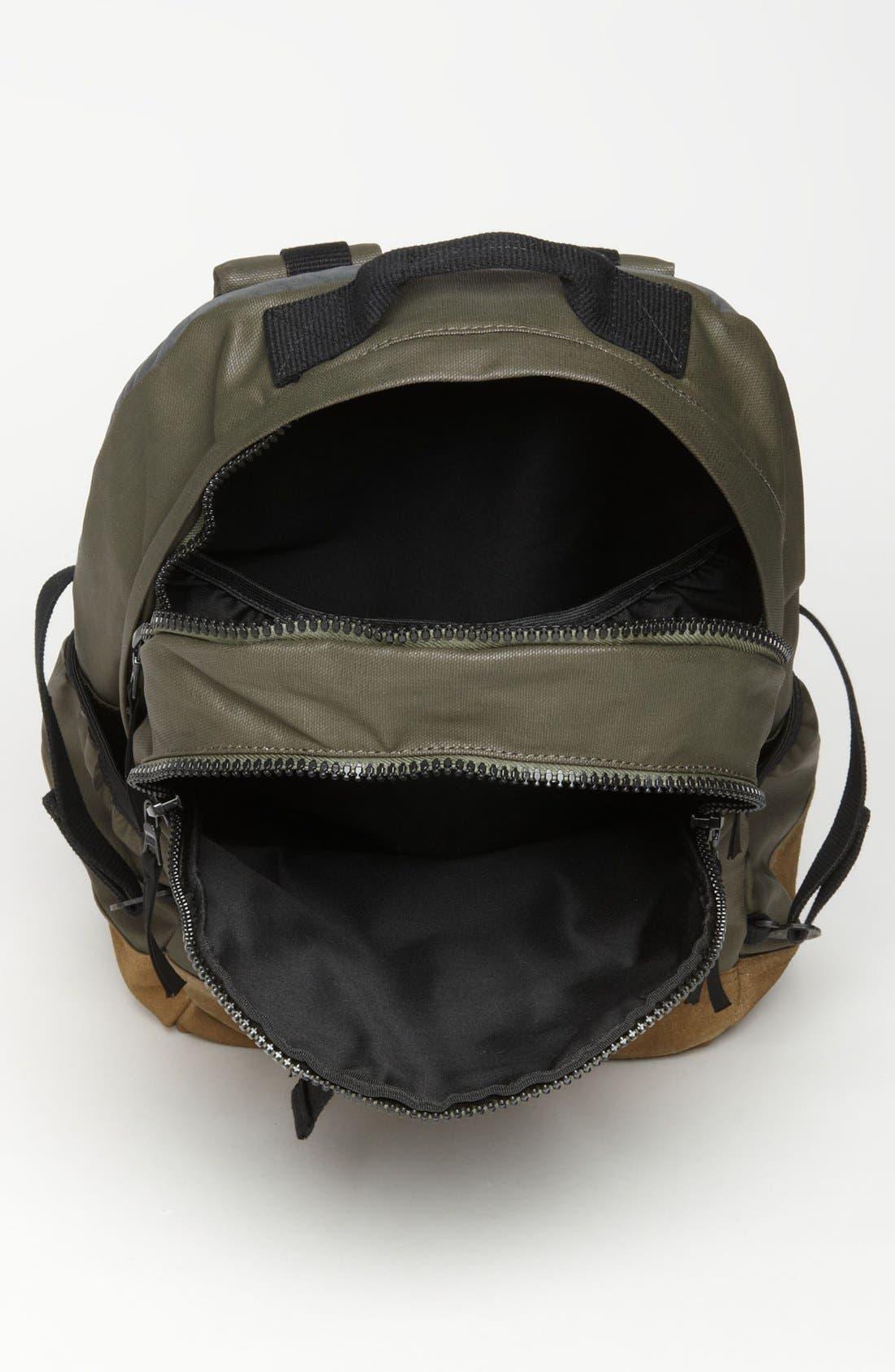 RAG & BONE, Canvas Backpack, Alternate thumbnail 4, color, 352