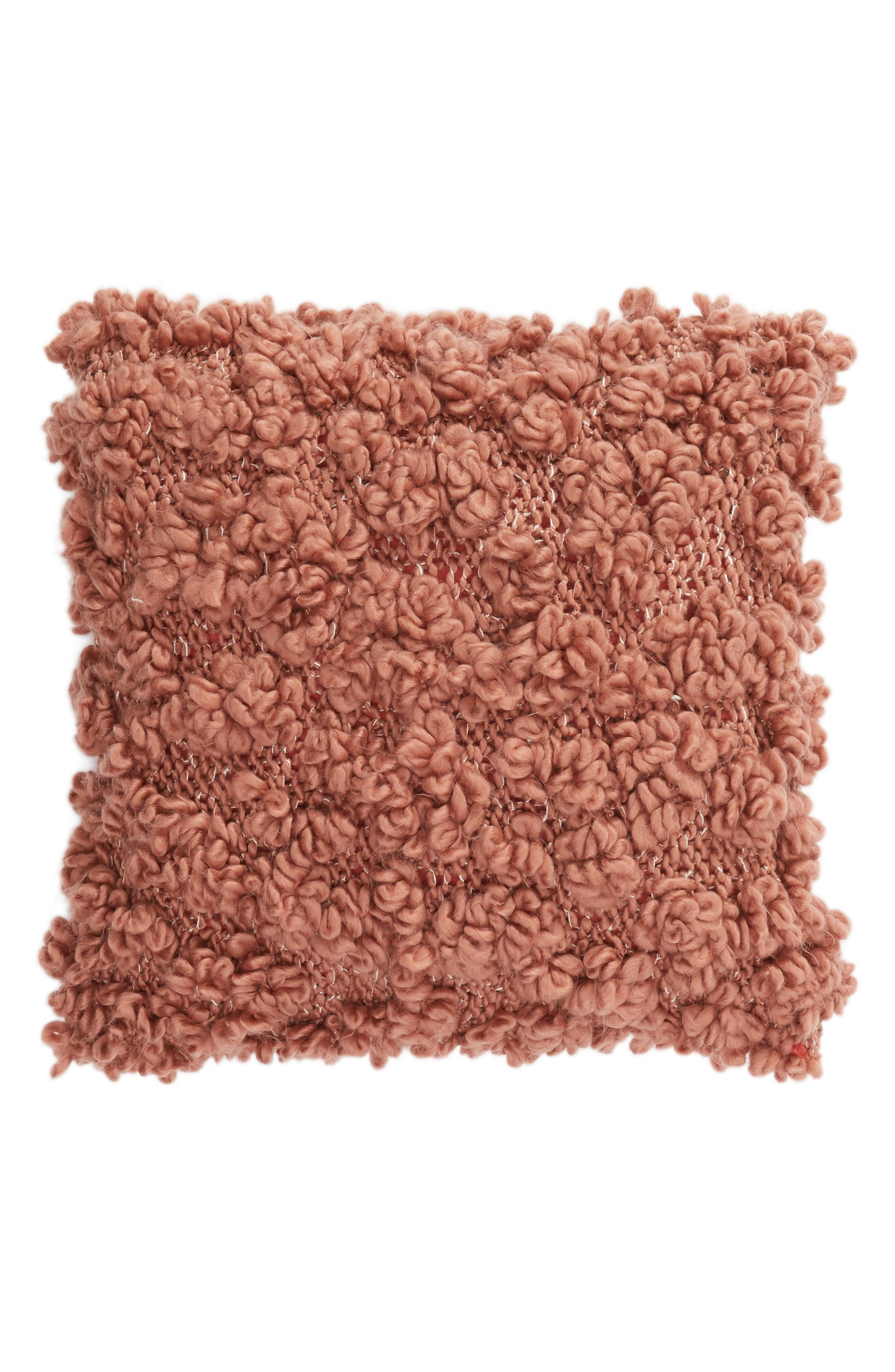 NORDSTROM AT HOME Knit Pillow, Main, color, PINK DAWN