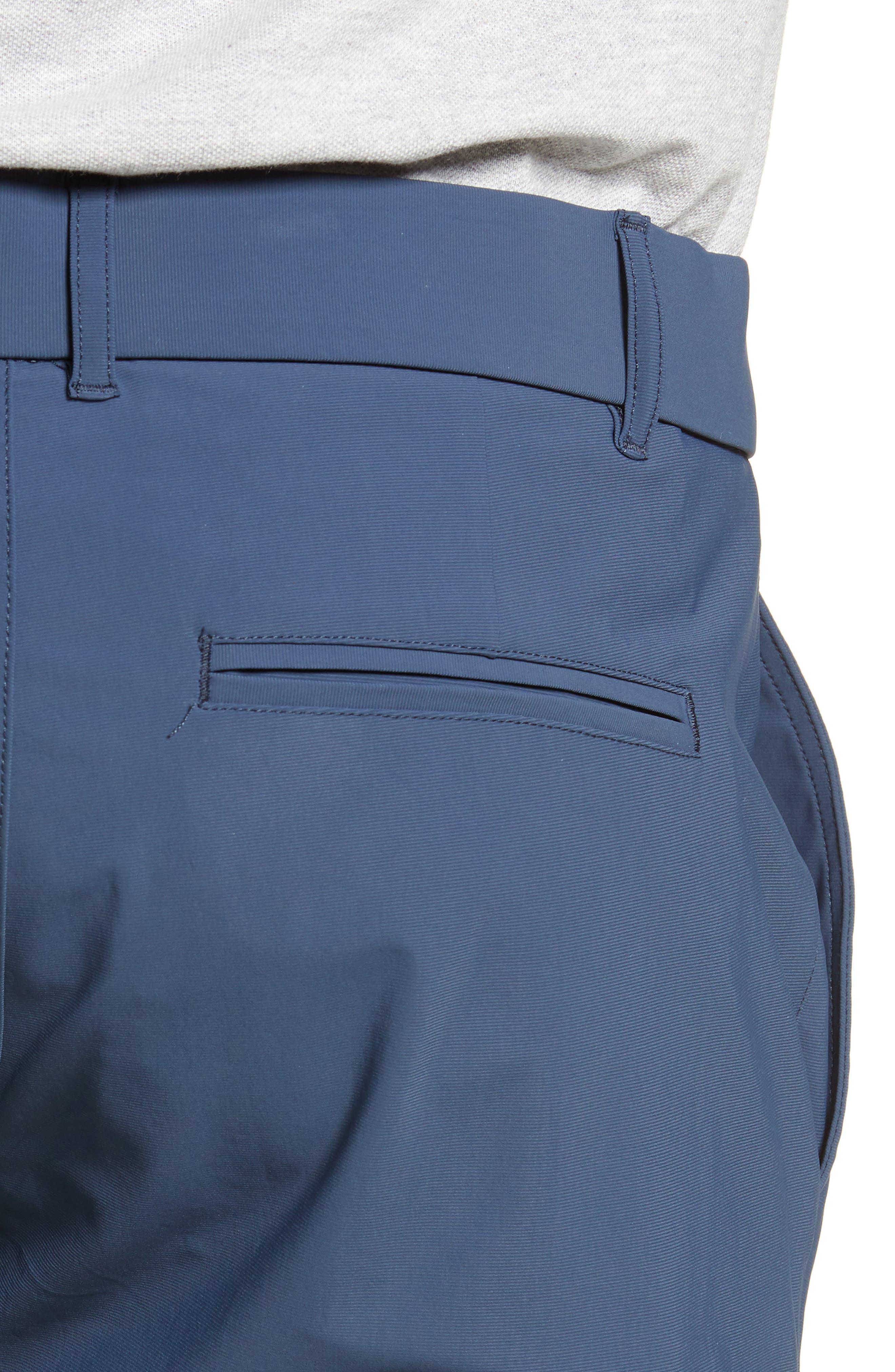 GREYSON, Montauk Technical Shorts, Alternate thumbnail 5, color, EEL