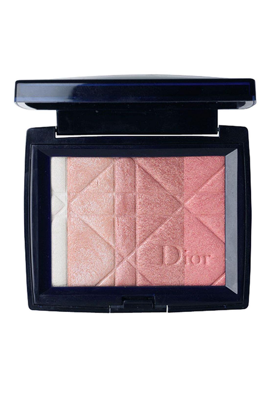 DIOR, 'Diorskin' Ultra Shimmering Allover Face Powder, Main thumbnail 1, color, 000