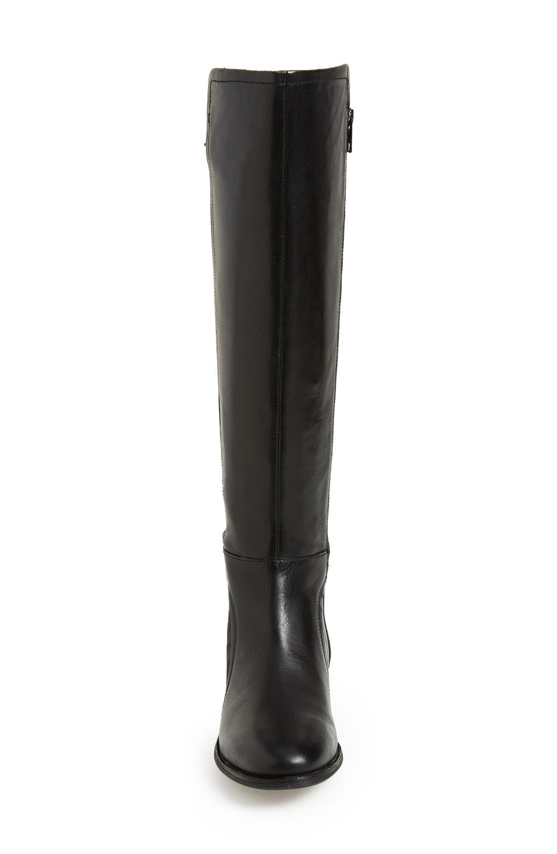 UGG<SUP>®</SUP>, Australia 'Danae' Riding Boot, Alternate thumbnail 3, color, 001