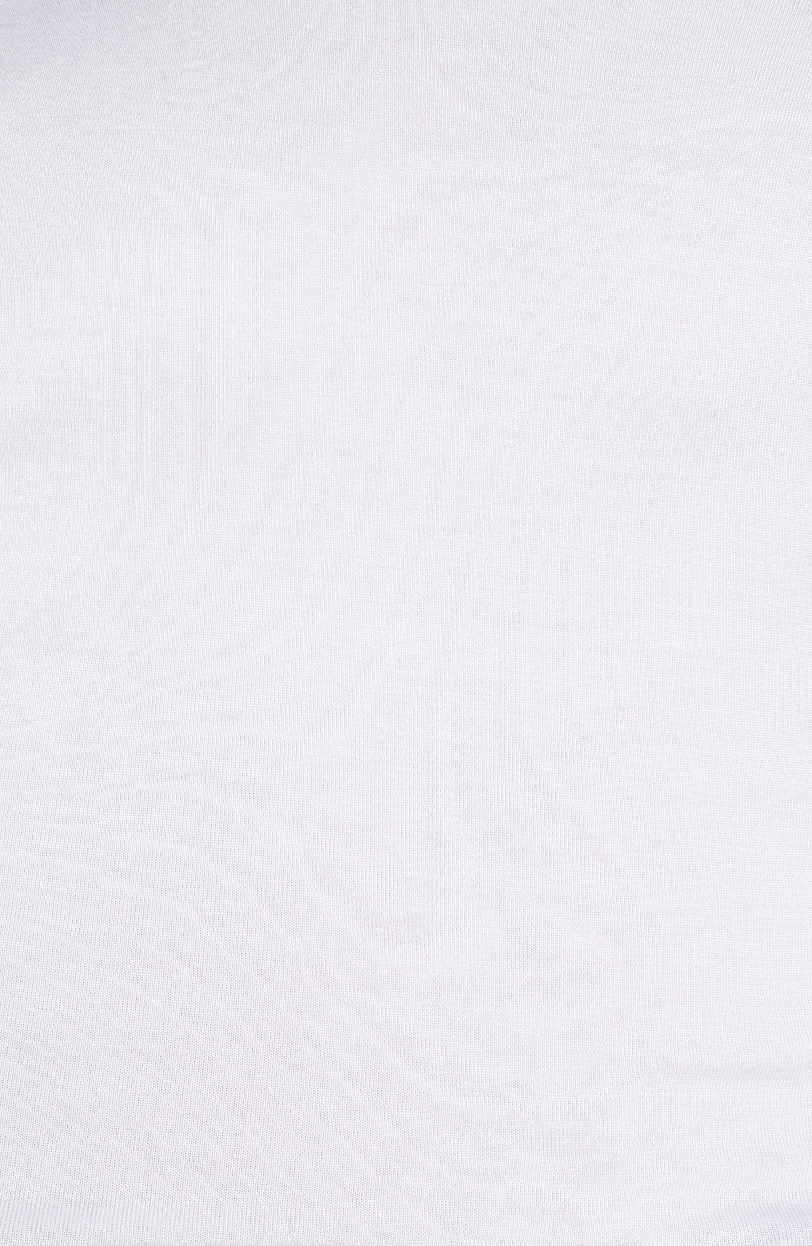 HALOGEN<SUP>®</SUP>, Long Layering Tank, Alternate thumbnail 6, color, WHITE