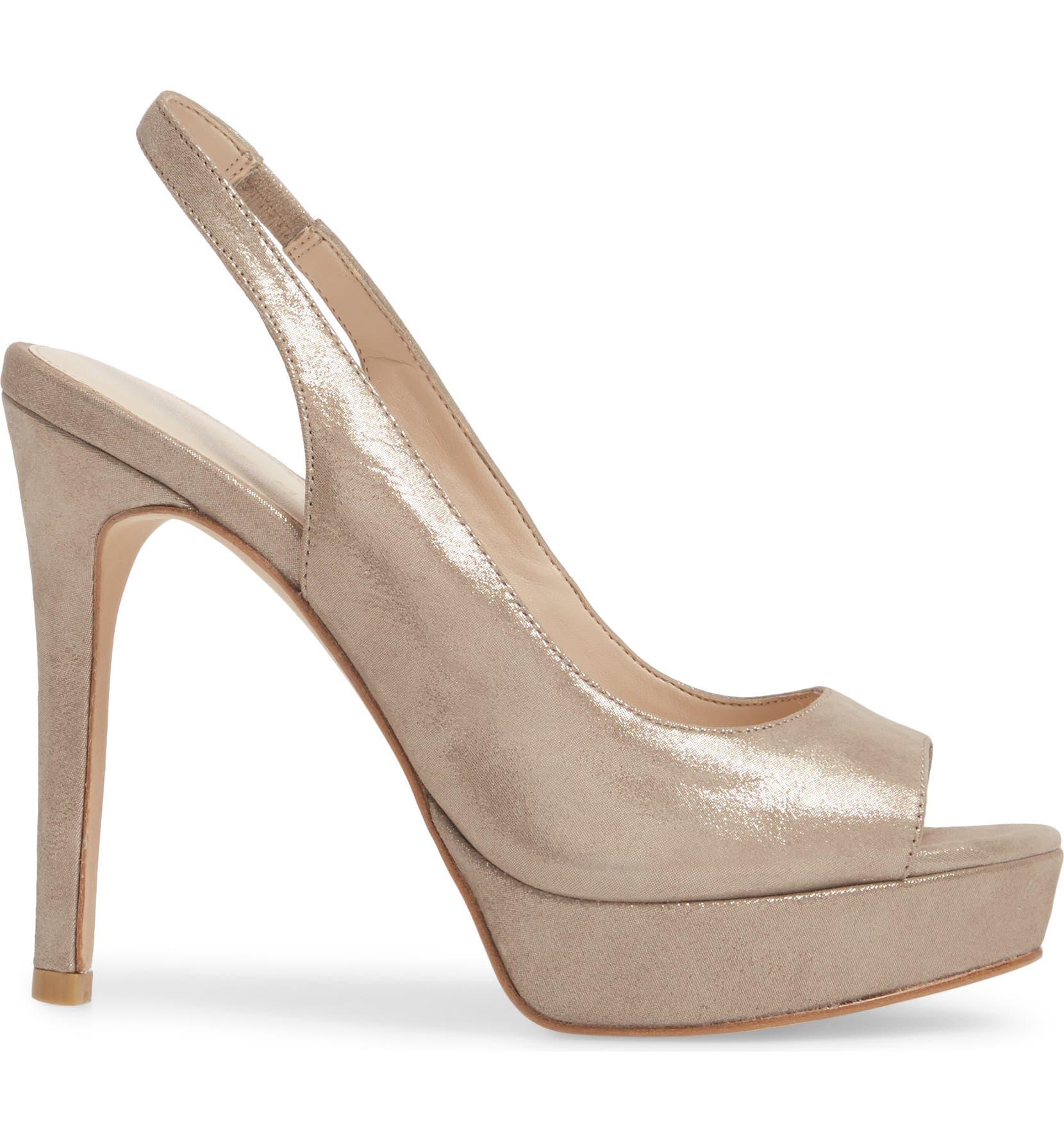 344bba7aff1f Pelle Moda Oana Slingback Platform Sandal (Women)
