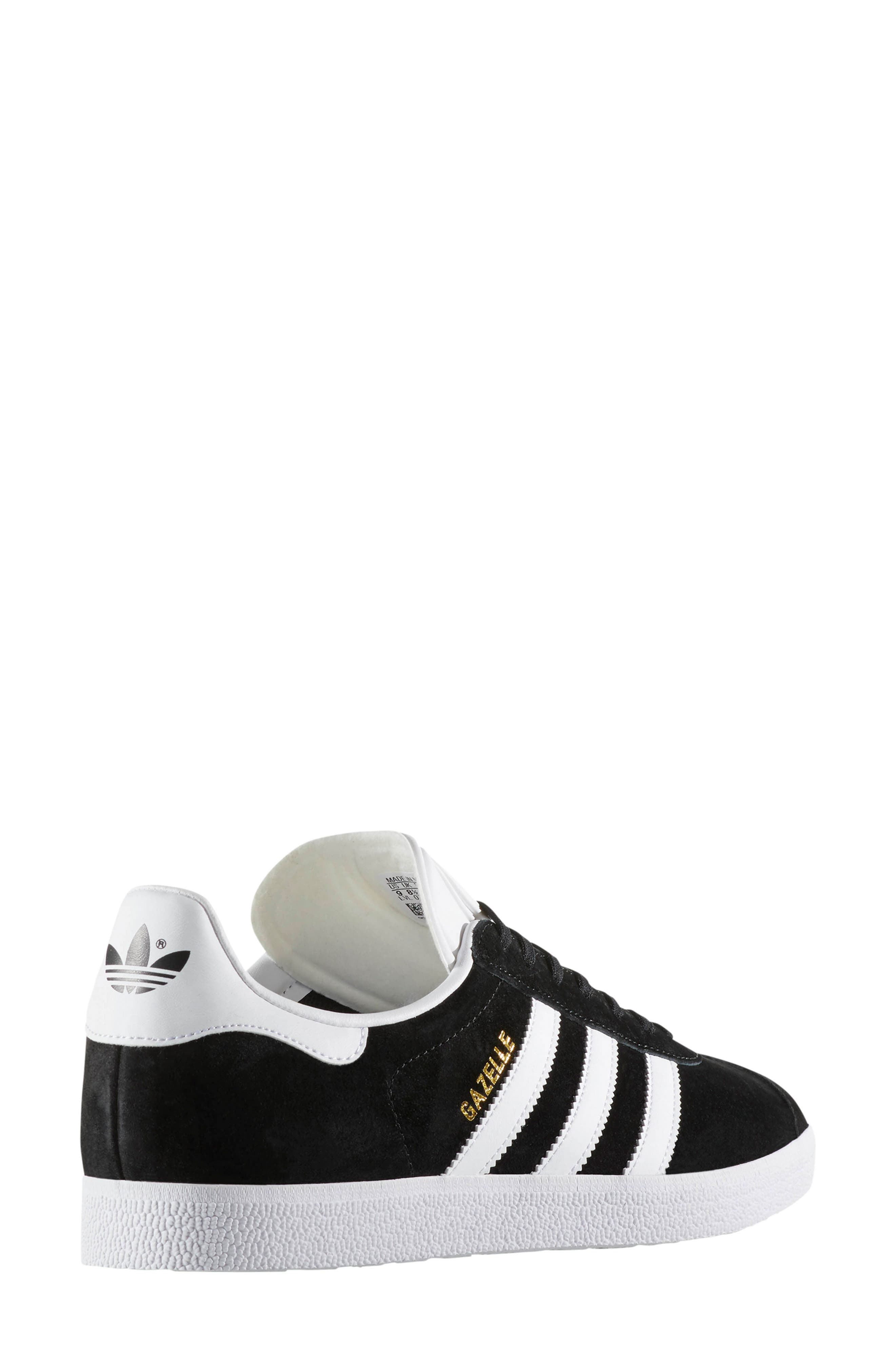 ADIDAS, Gazelle Sneaker, Alternate thumbnail 2, color, 003