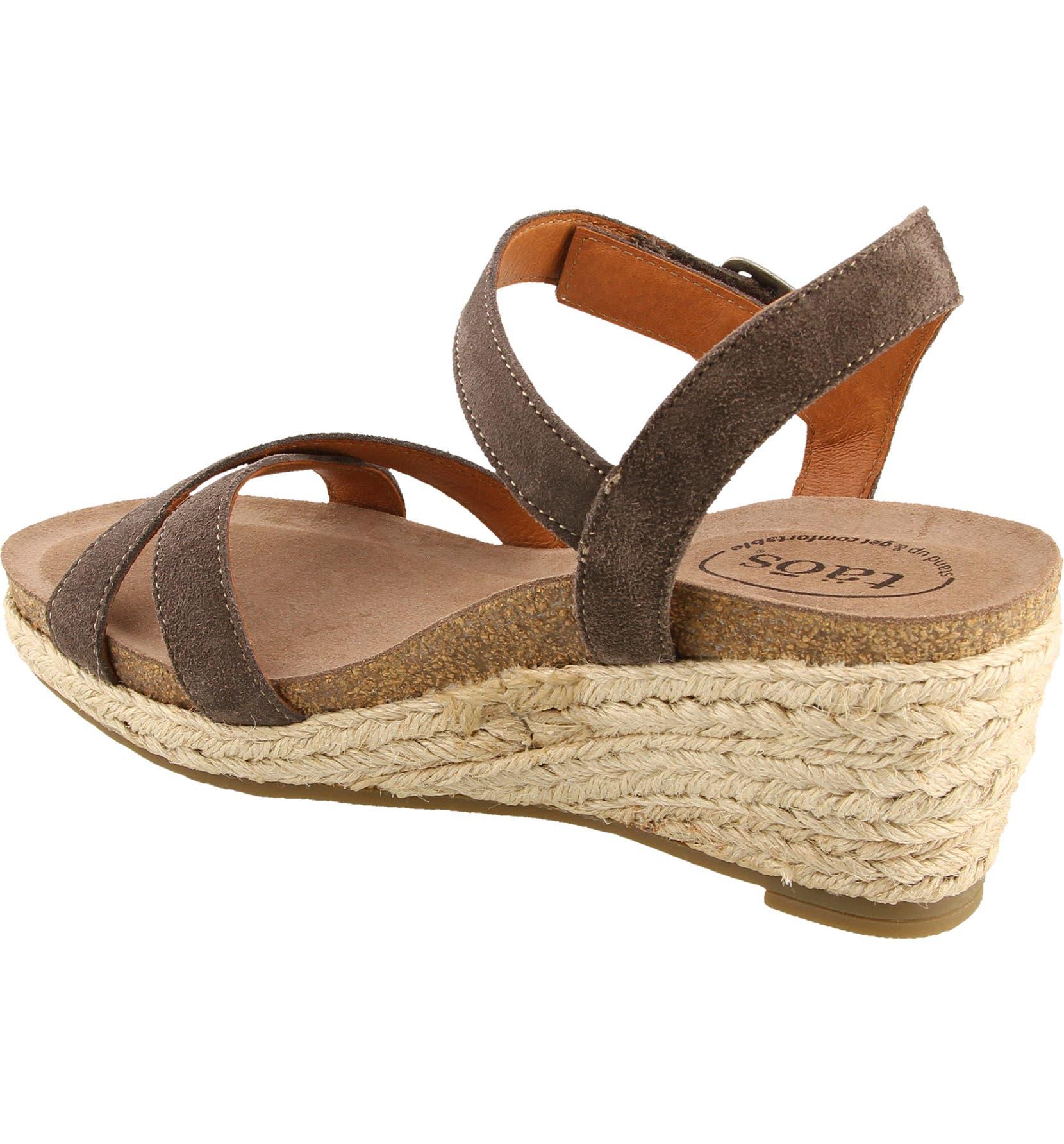 8af7b1af101 Taos Hey Jute Espadrille Wedge Sandal (Women)