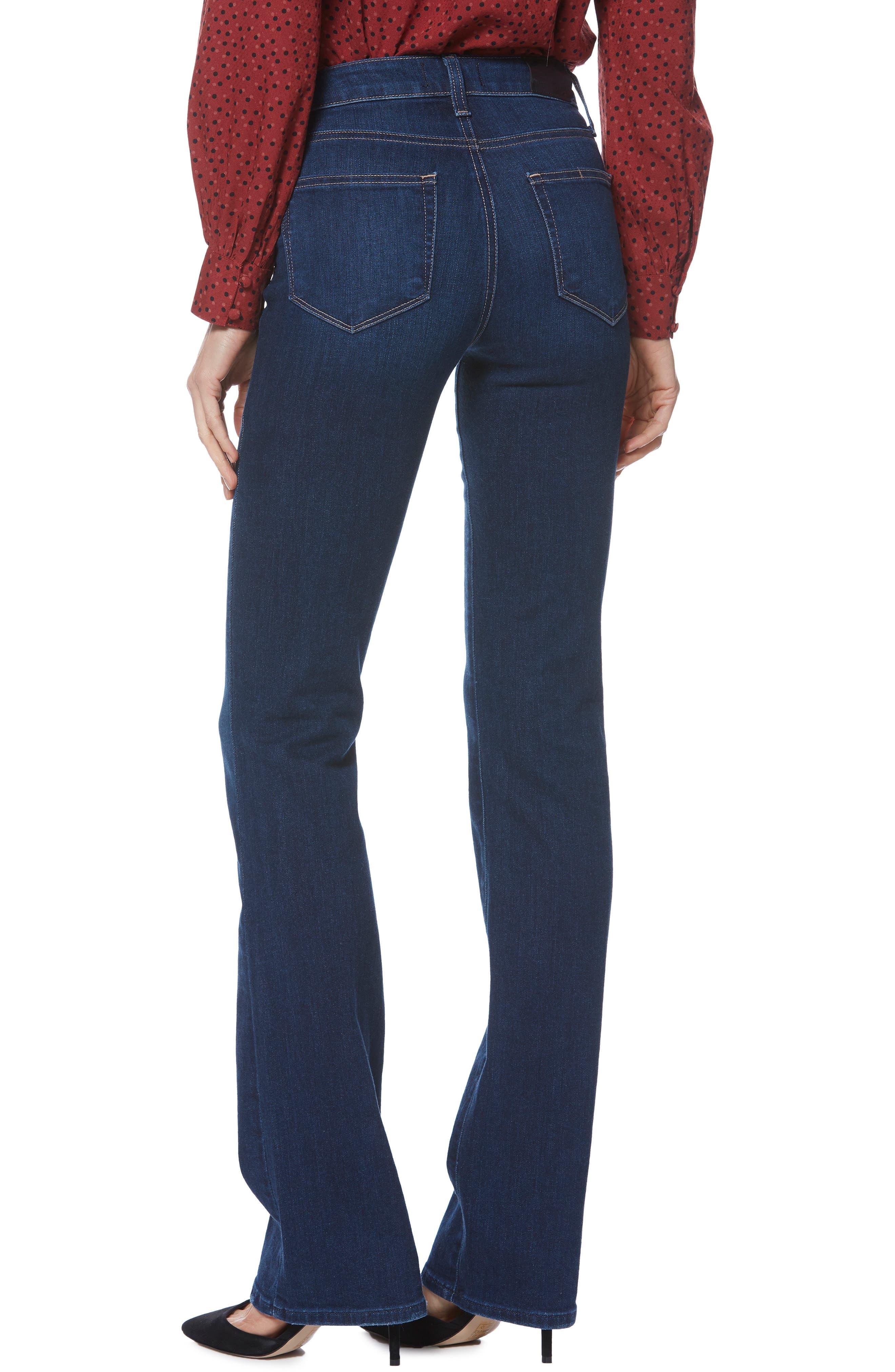 PAIGE, Transcend Vintage - Manhattan Bootcut Jeans, Alternate thumbnail 2, color, 400