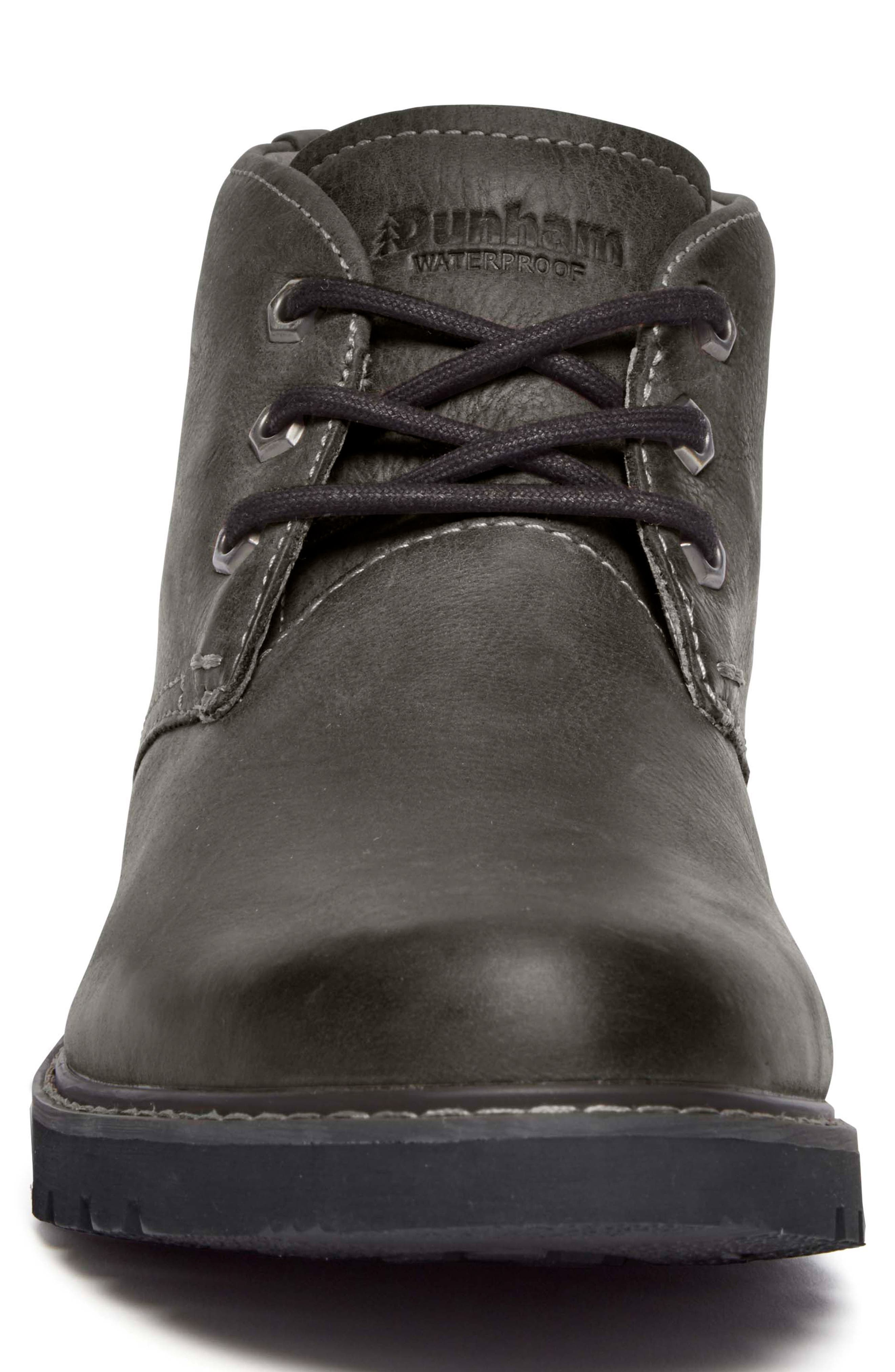 DUNHAM, Royalton Chukka Boot, Alternate thumbnail 4, color, FLAGSTONE LEATHER