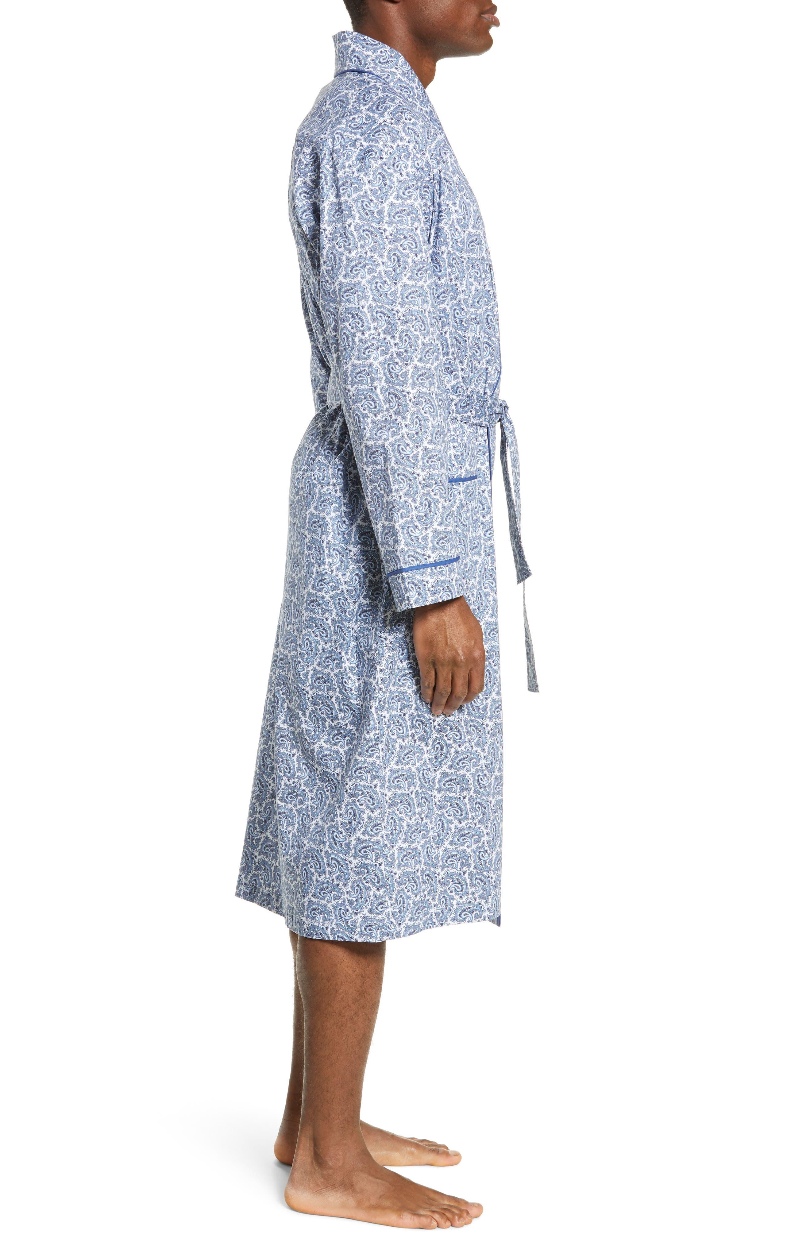 MAJESTIC INTERNATIONAL, Marbella Stretch Sateen Robe, Alternate thumbnail 3, color, POOL