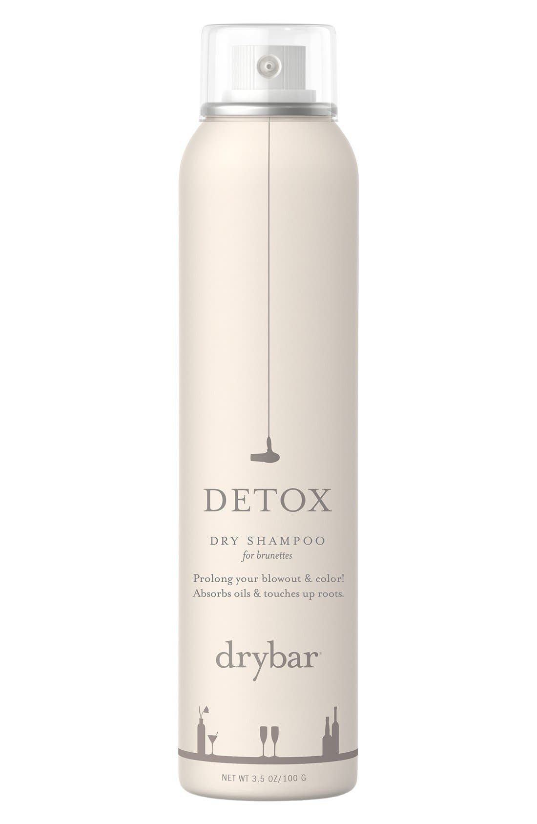 DRYBAR, Detox Dry Shampoo for Brunettes, Alternate thumbnail 2, color, NO COLOR