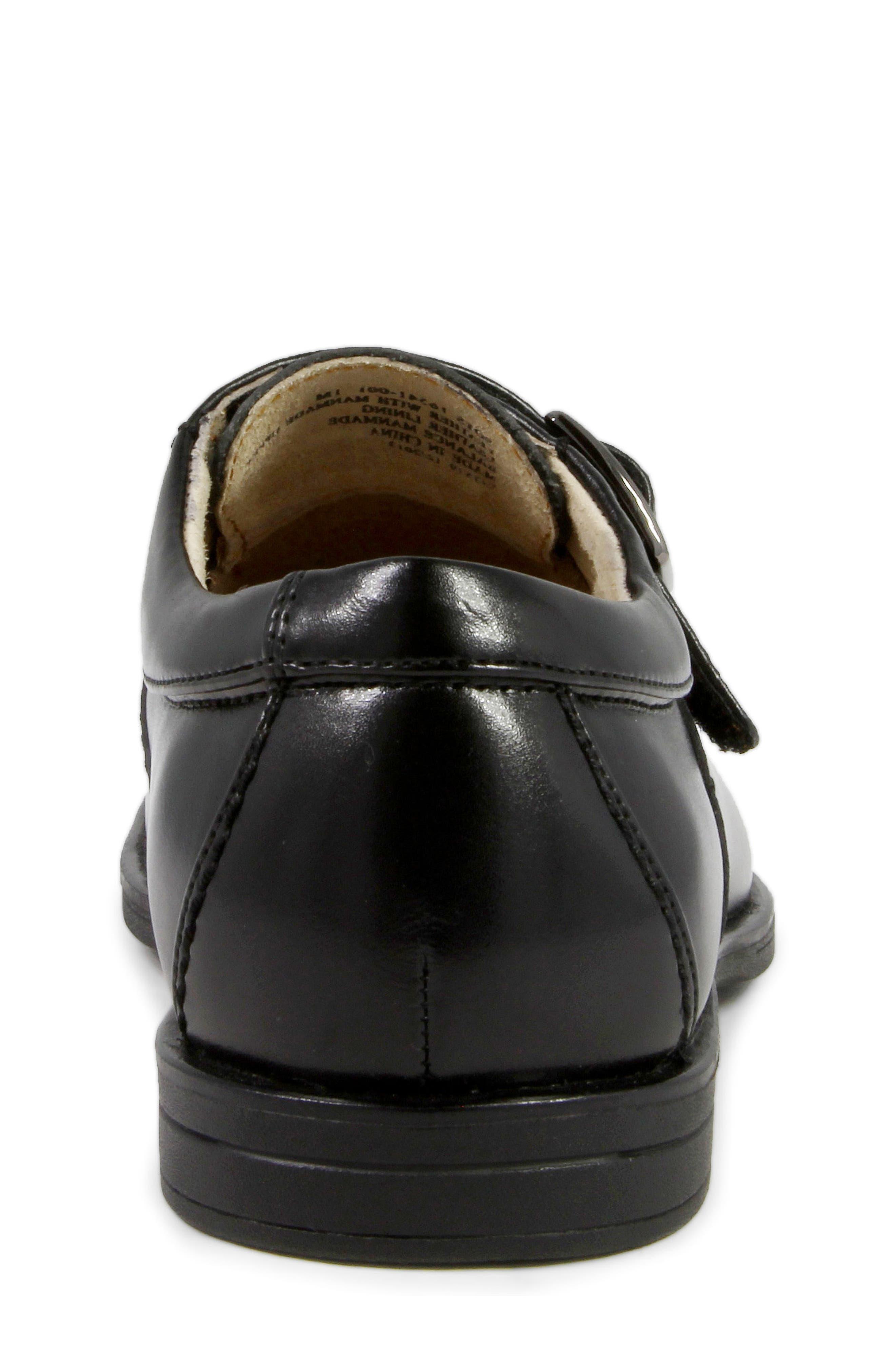FLORSHEIM, 'Reveal' Monk Strap Slip-On, Alternate thumbnail 8, color, BLACK