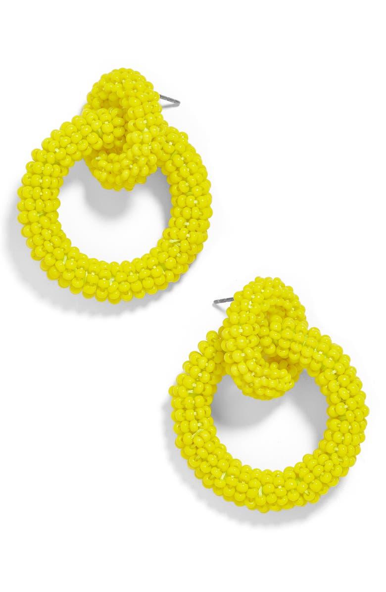 Baublebar Accessories MINI EMMA BEADED HOOP EARRINGS
