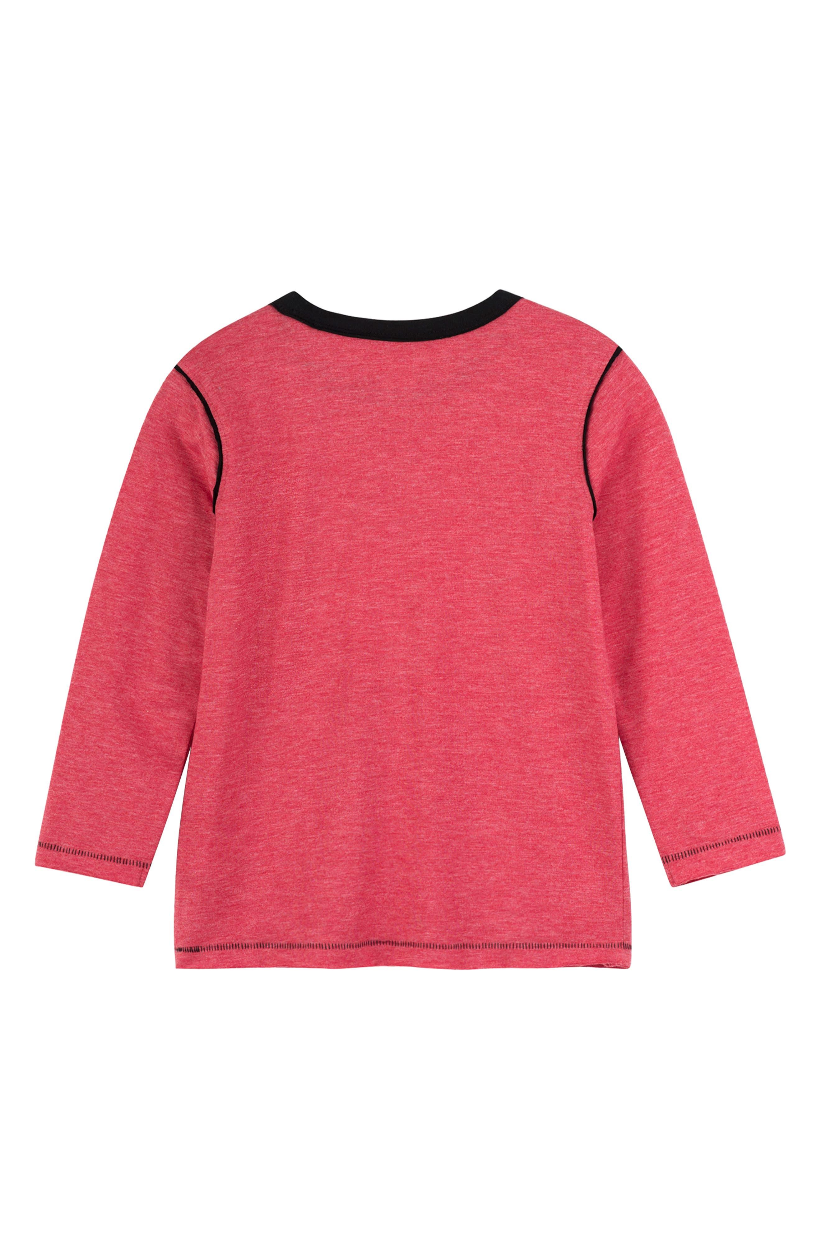 HATLEY, Long Sleeve T-Shirt, Alternate thumbnail 2, color, 600