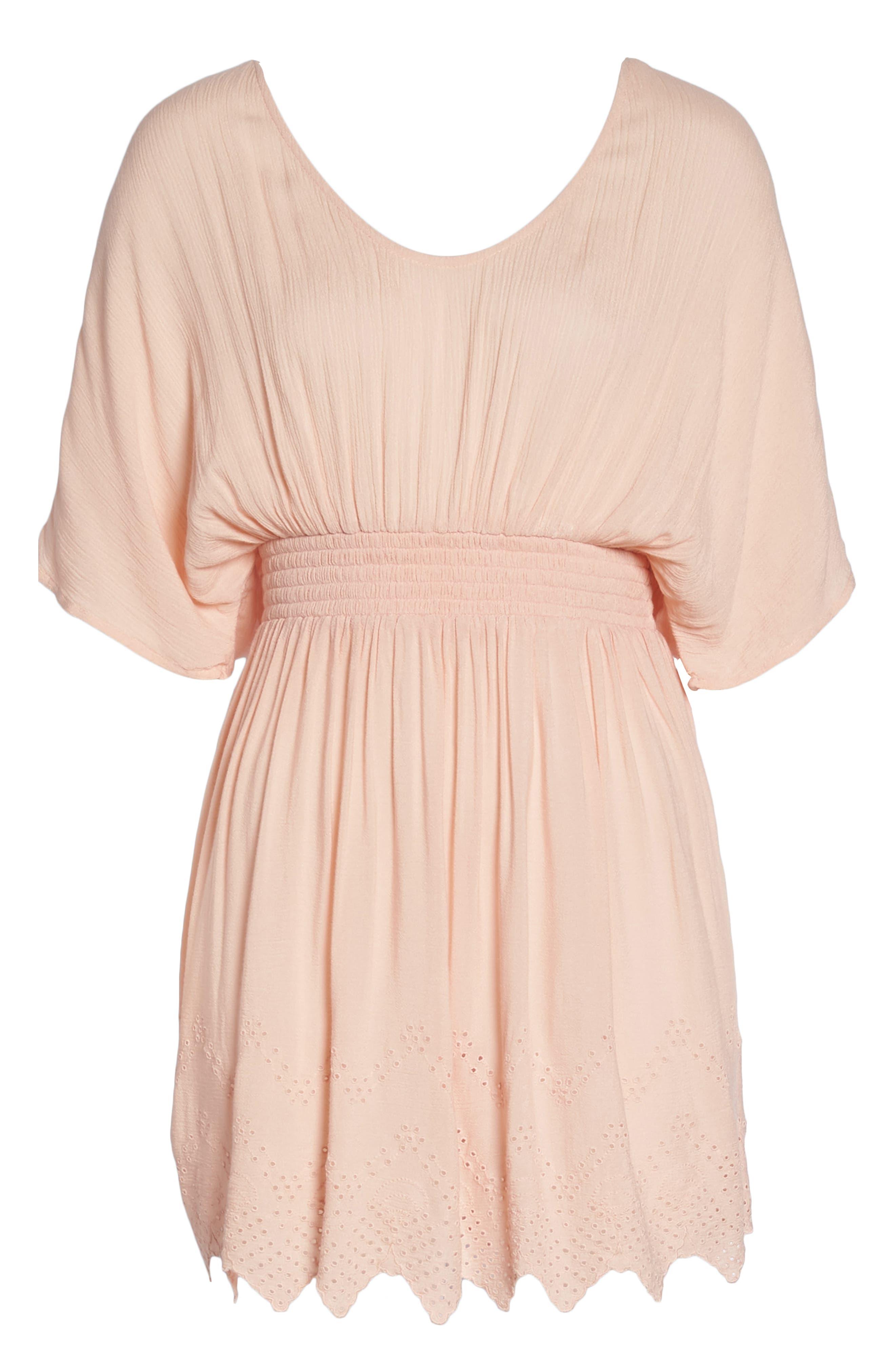 CHELSEA28, Goddess Cover-Up Dress, Alternate thumbnail 6, color, 680