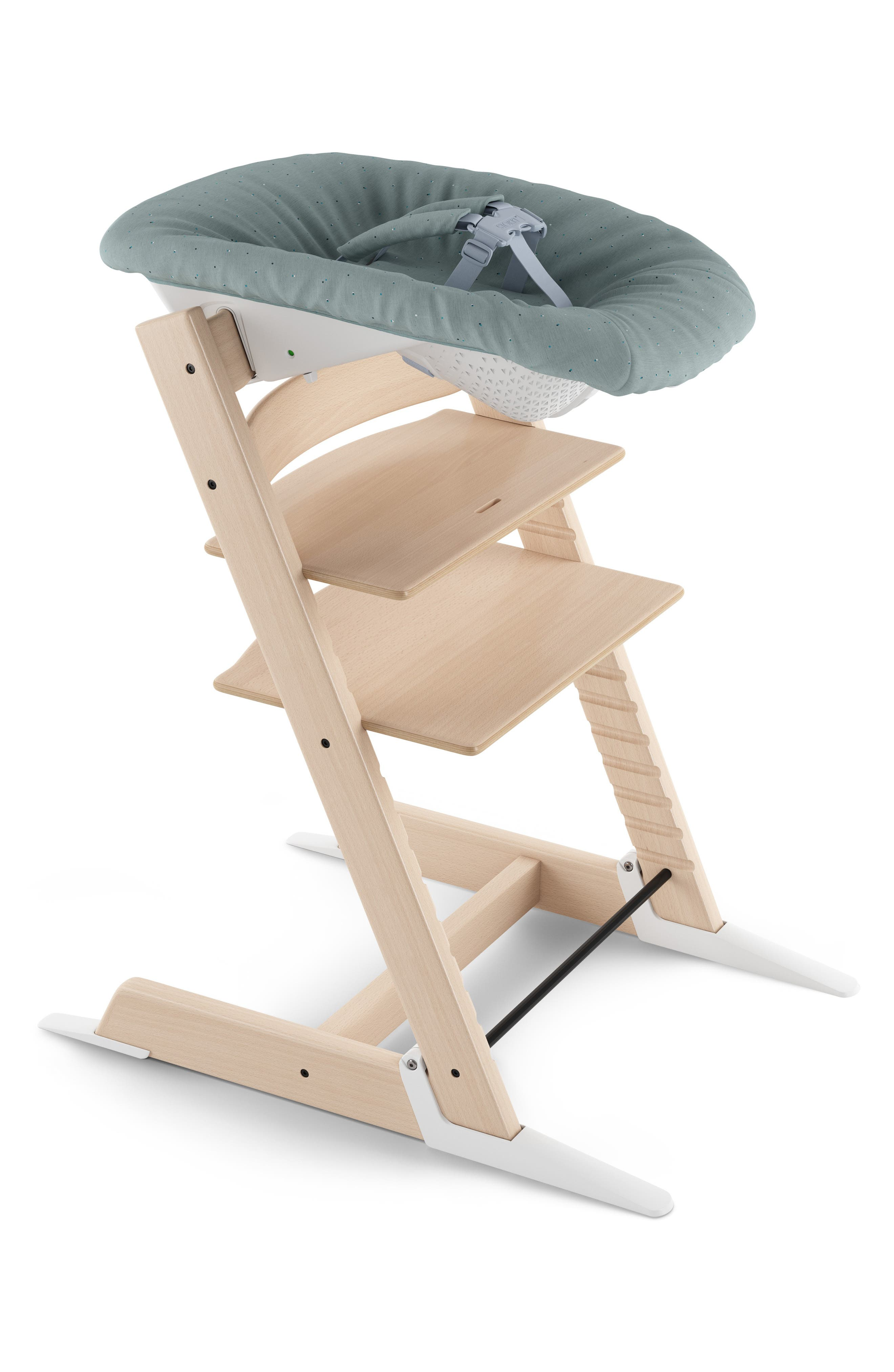 STOKKE, Upholstery Cover for Tripp Trapp Newborn Set Attachment, Alternate thumbnail 2, color, JADE CONFETTI