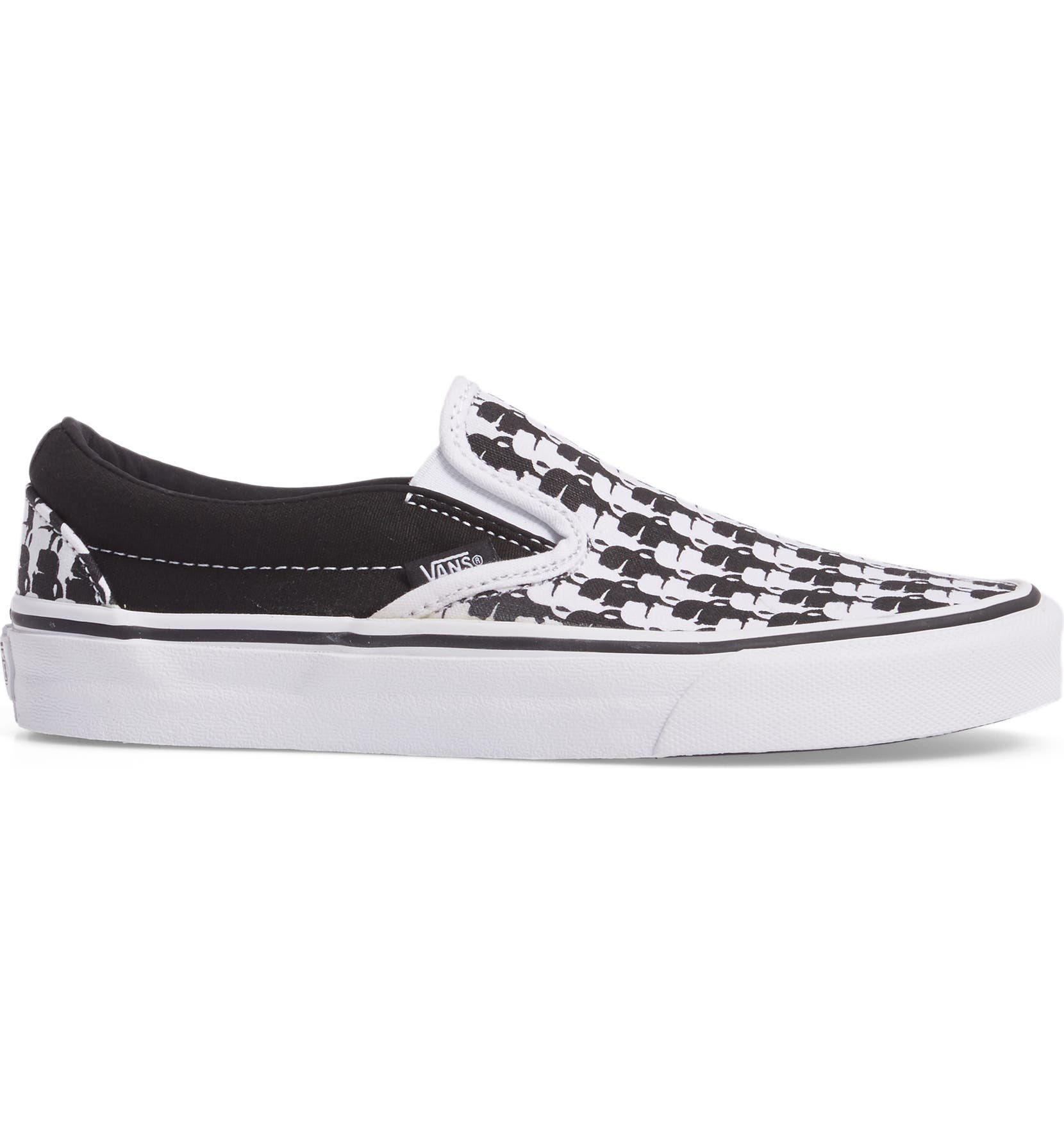 4e934da80b Vans x KARL LAGERFELD Houndstooth Slip-On Sneaker (Women)