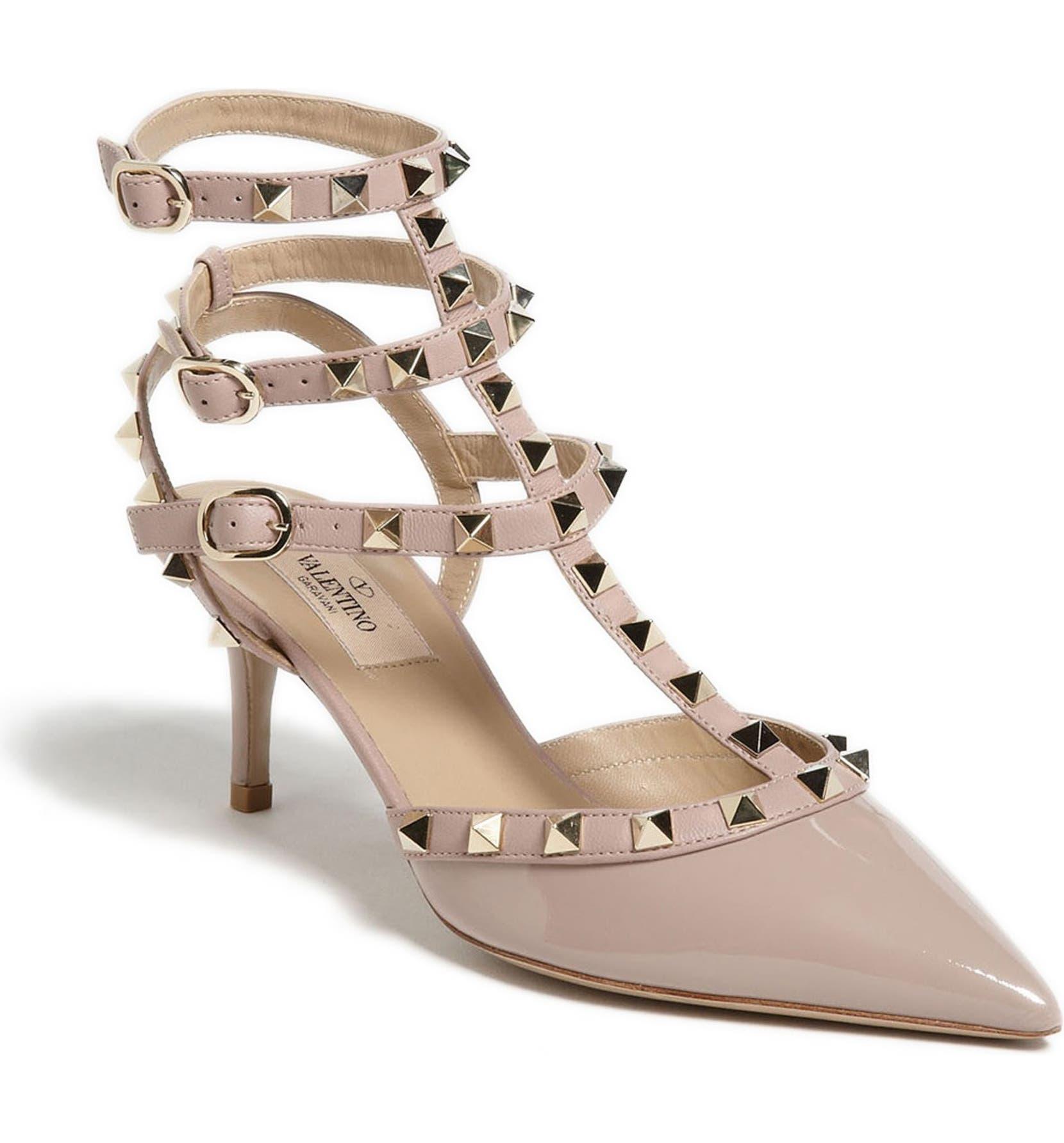 4d2fc034751e0 Valentino Garavani Leather Rockstud Pumps 100 #AD , #sponsored, #Leather, #