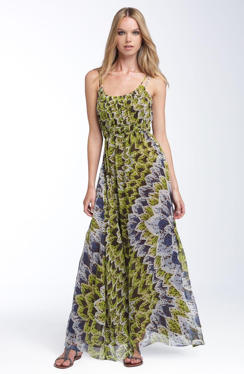 25f54b4389c52 Bellatrix Printed Silk Chiffon Maxi Dress | Nordstrom