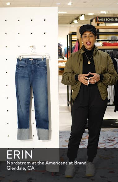The Pony Boy Frayed Ankle Tapered Jeans, sales video thumbnail