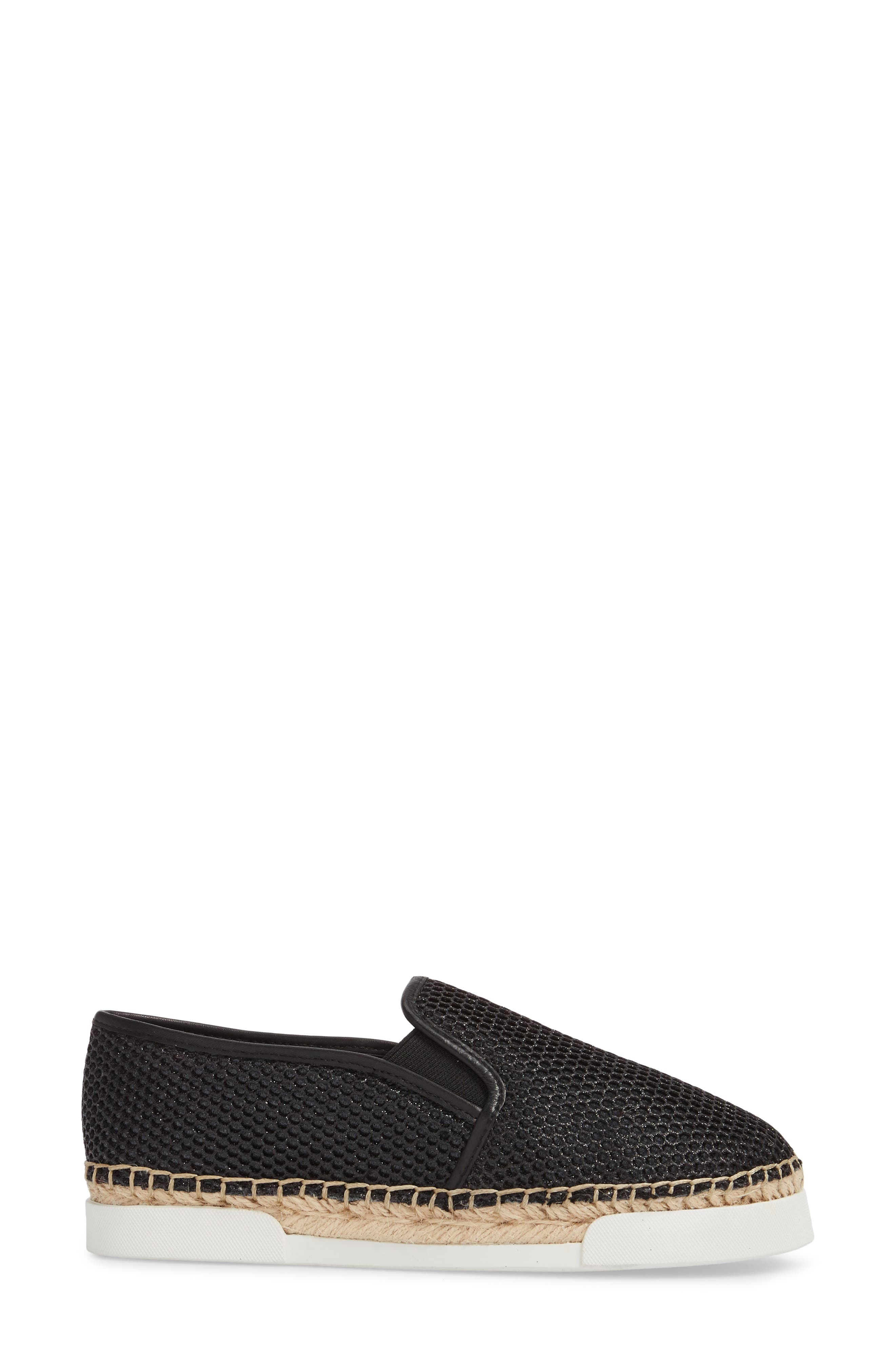 VINCE CAMUTO, Tambie Slip-On Sneaker, Alternate thumbnail 3, color, 001