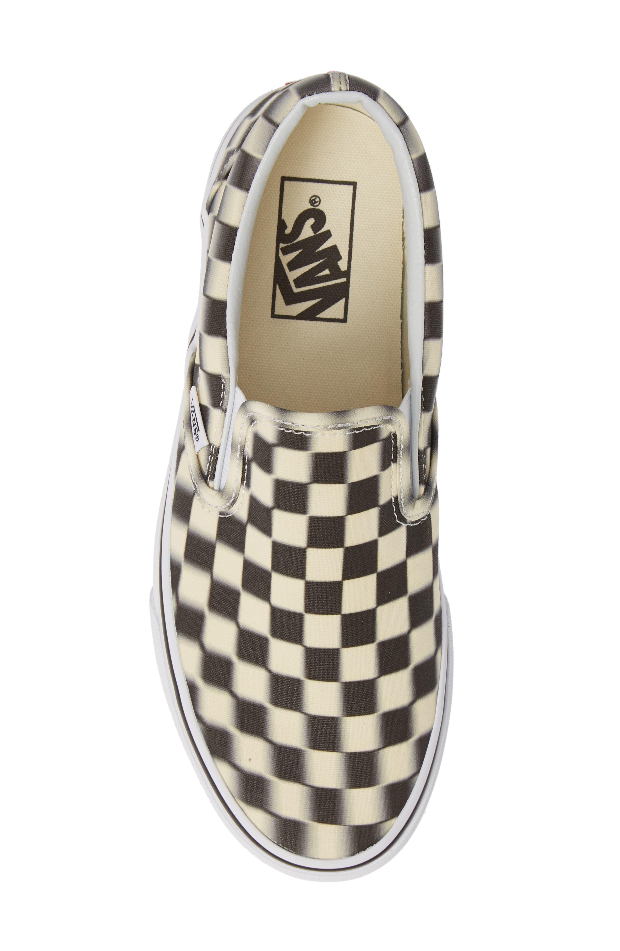 VANS, Classic Slip-On Sneaker, Alternate thumbnail 5, color, 011