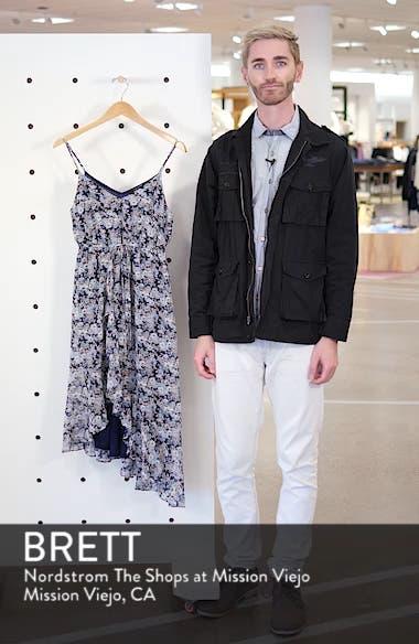 Asymmetrical Ruffle Hem Dress, sales video thumbnail
