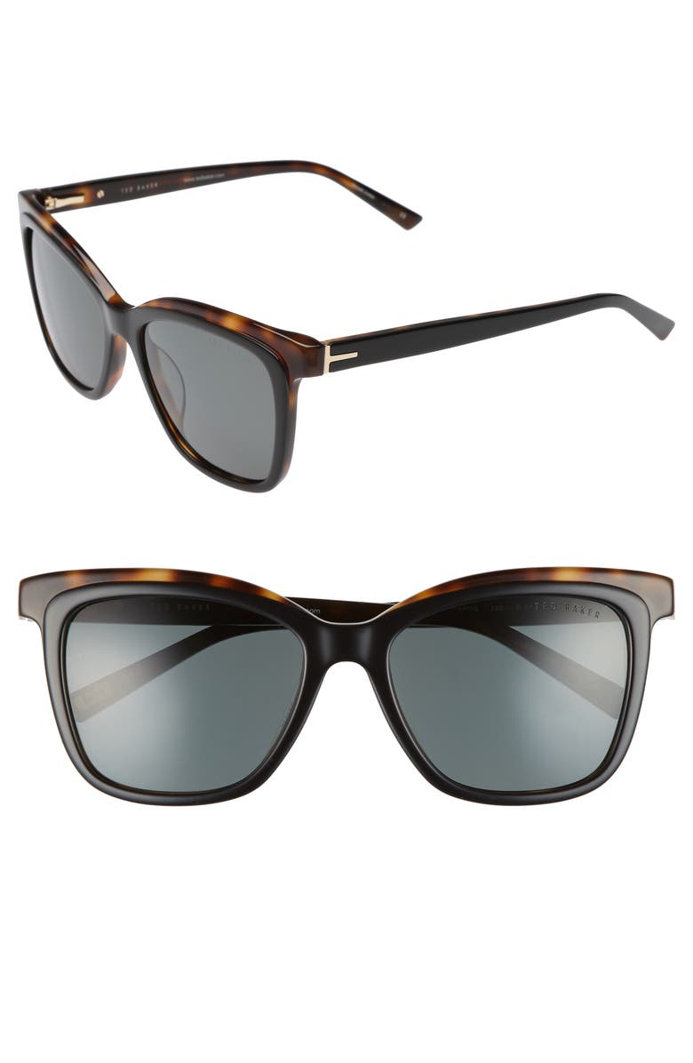d3c2dbebc8 Ted Baker London 54mm Polarized Cat Eye Sunglasses