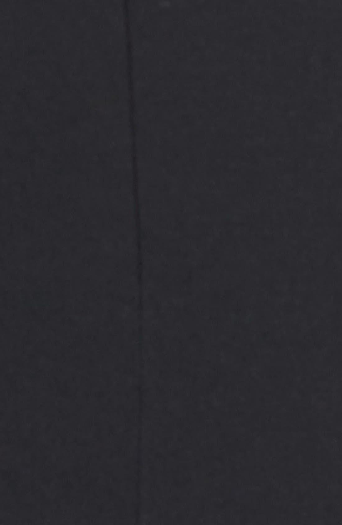 ANNE KLEIN, One-Button Suit Jacket, Alternate thumbnail 5, color, 001