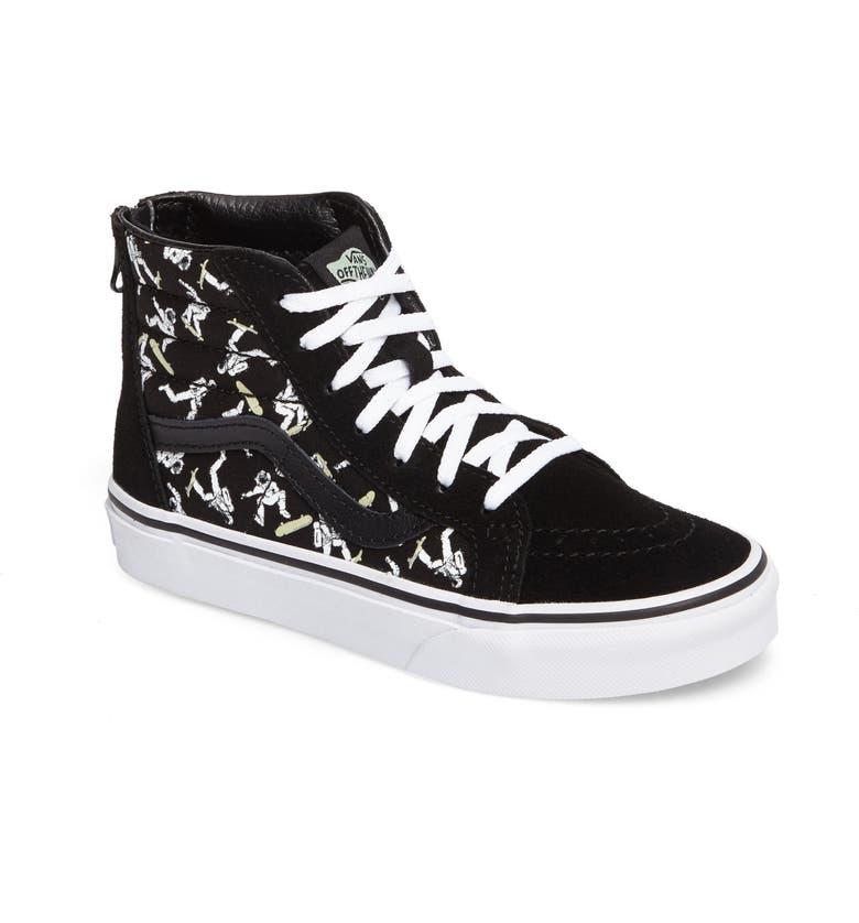 64e2d7d6e1fb68 Vans SK8-Hi Zip Astronaut Sneaker (Toddler