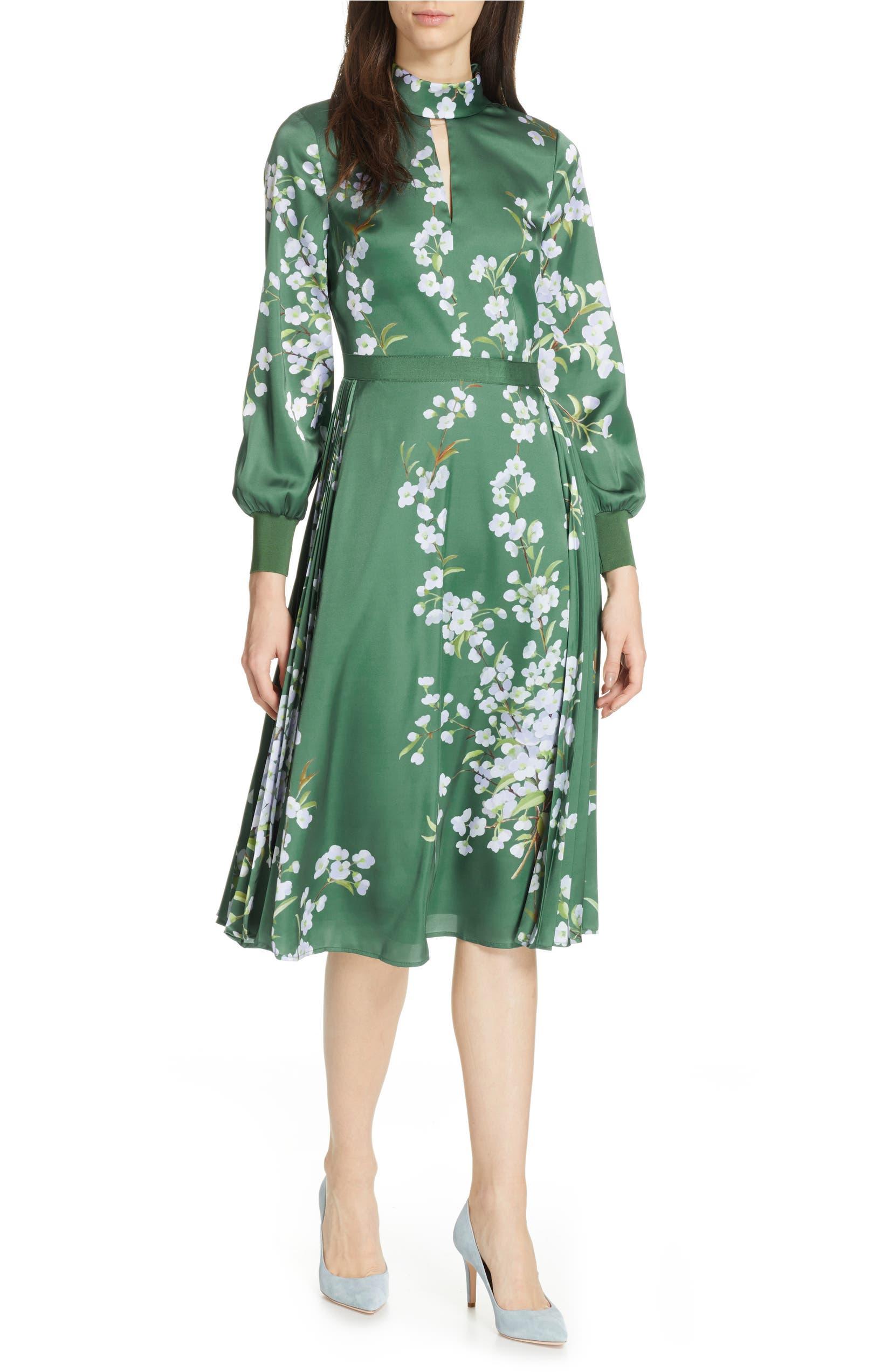 63e687212099 Ted Baker London Jhenni Graceful Satin A-Line Dress