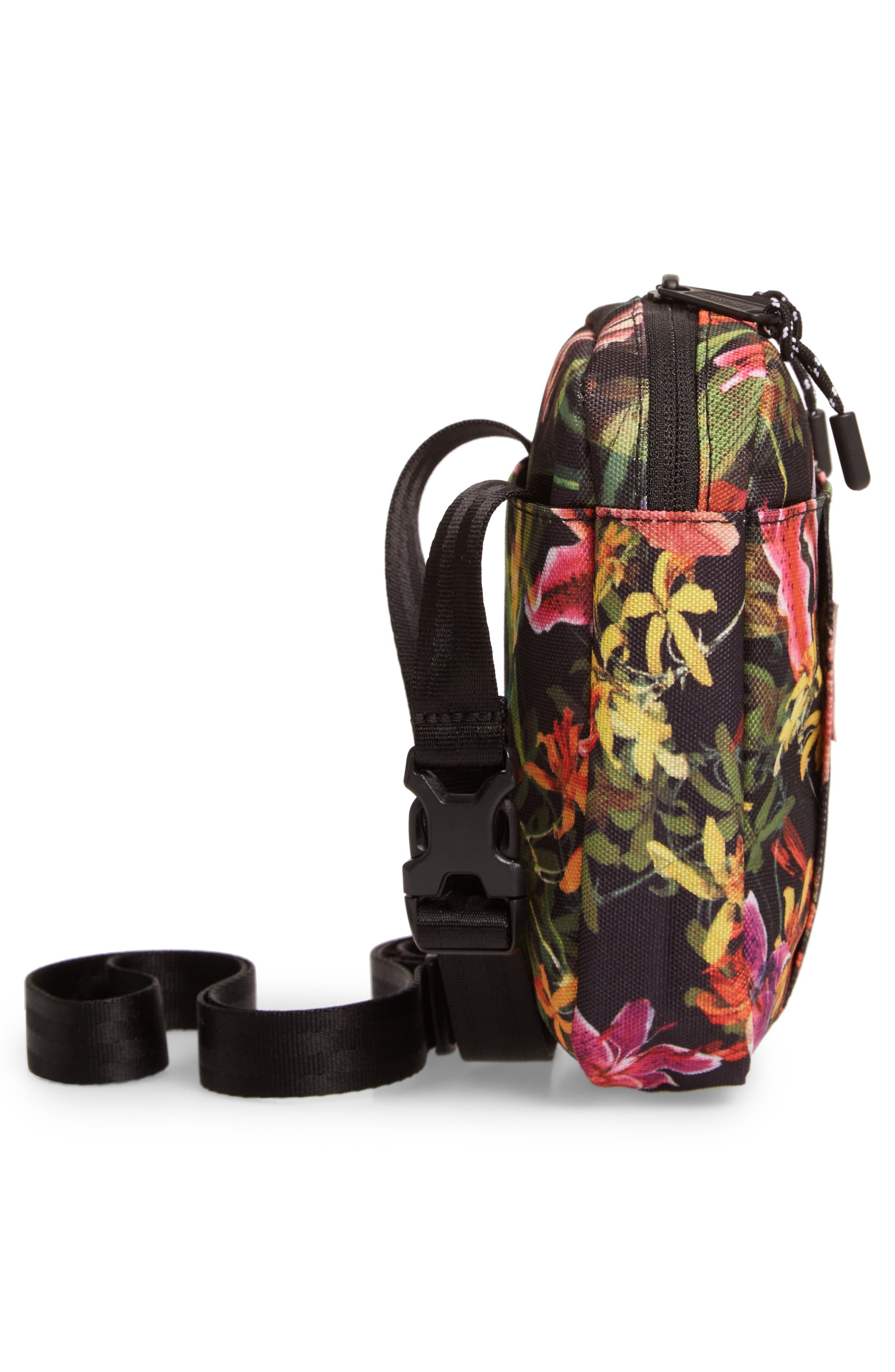 HERSCHEL SUPPLY CO., Cruz Crossbody Bag, Alternate thumbnail 6, color, JUNGLE HOFFMAN