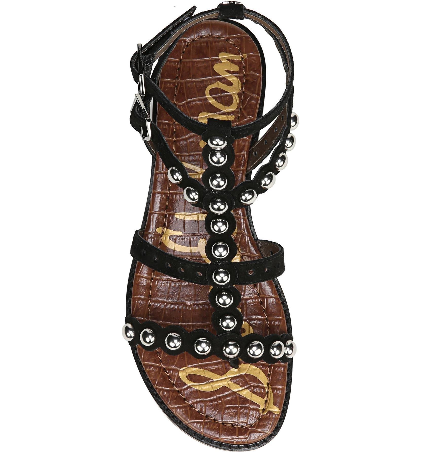 7e6e0e451943 Sam Edelman Elisa Studded Gladiator Sandal (Women)