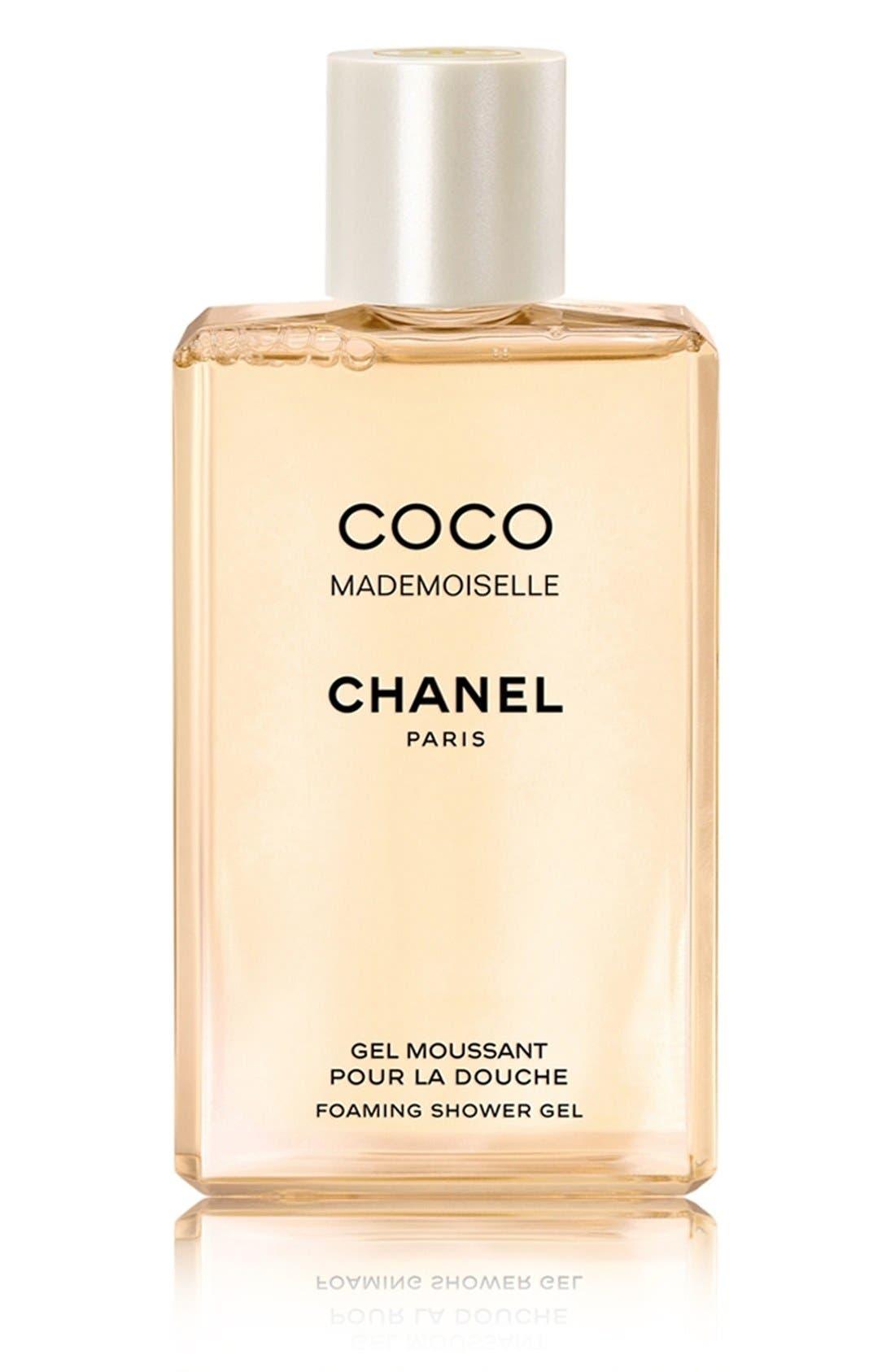 CHANEL COCO MADEMOISELLE<br />Foaming Shower Gel, Main, color, NO COLOR